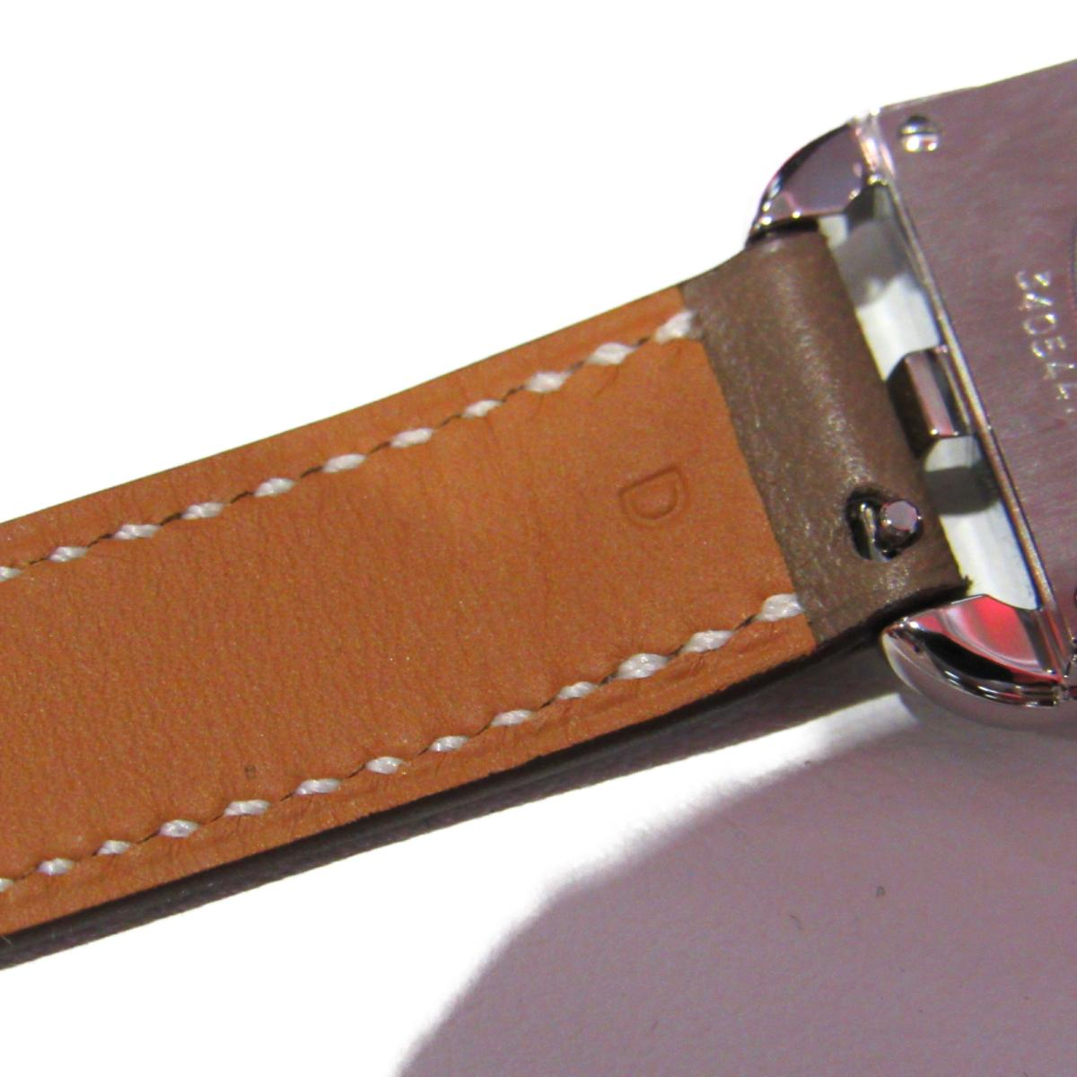 エルメス ケープコッド ドゥブルトゥール 腕時計 ウォッチ レディース ヴォースイフト x ステンレス エトゥープHERMES BRANDOFF ブランドオフ ブランド ブランド時計 ブランド腕時計 時計SUzGVqMp