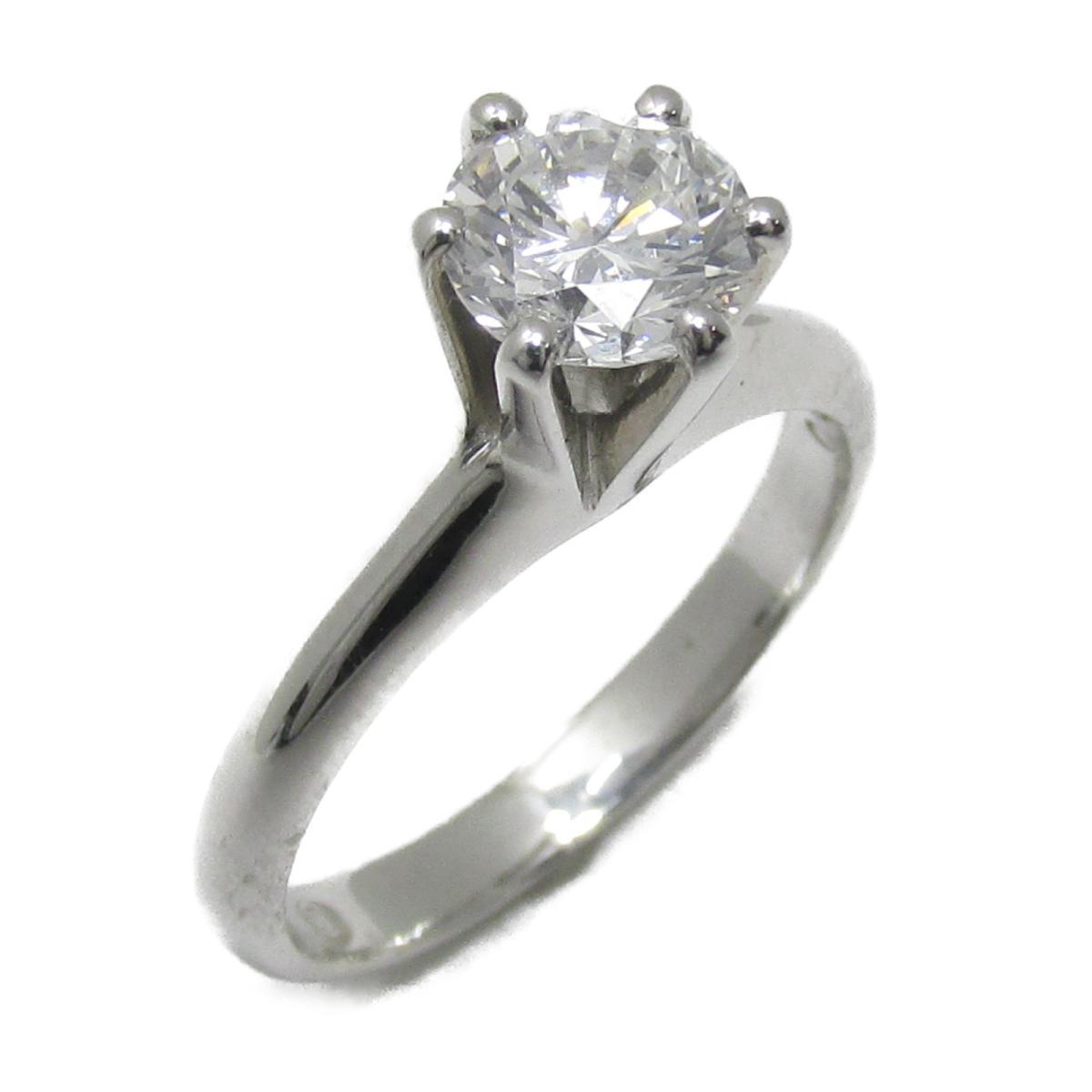 【中古】 ジュエリー ダイヤモンド リング 指輪 レディース PT900 プラチナ x (0.87ct) | JEWELRY BRANDOFF ブランドオフ ブランド アクセサリー