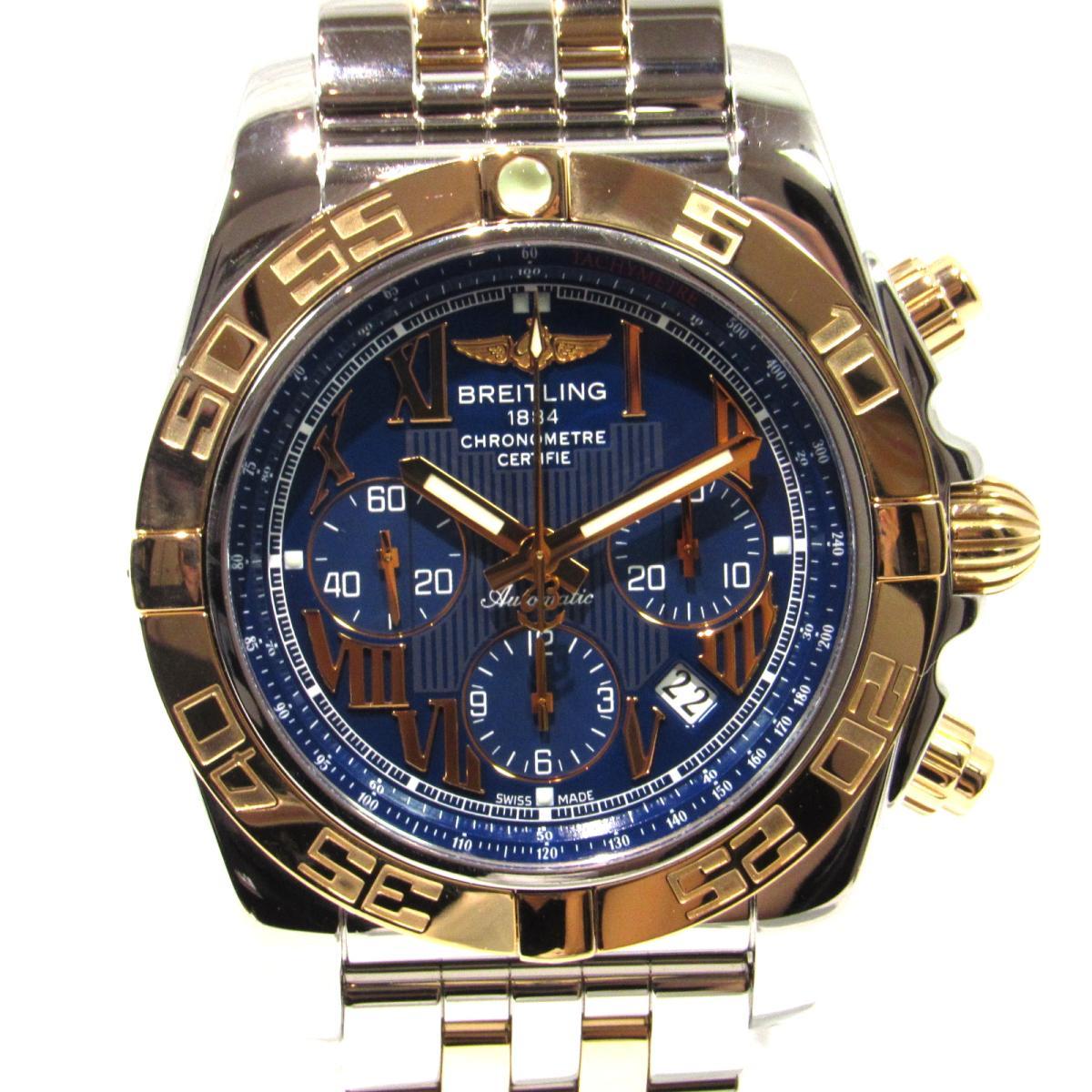 【ご予約品】 【】 ブライトリング メンズ クロノマット44 時計 ウォッチ メンズ | ステンレススチール (SS) 腕時計 x K18 シルバー ゴールド ブルー (CB011012/C784) | BREITLING BRANDOFF ブランドオフ ブランド ブランド時計 ブランド腕時計 腕時計, アルマーディオ:f57dc0bc --- cpps.dyndns.info