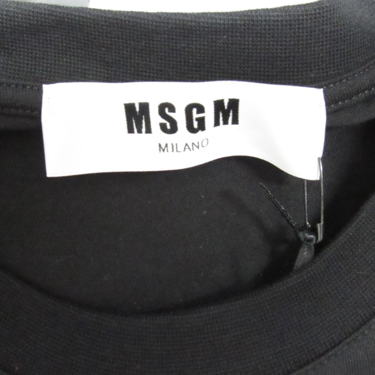 セレクション MSGM ビッグシルエット 半袖Tシャツ レディース コットン ブラック x ホワイトMDM17999SELECTION BRANDOFF ブランドオフ 衣料品 衣類 ブランド トップス Tシャツ シャツ カットソーtCshQrd