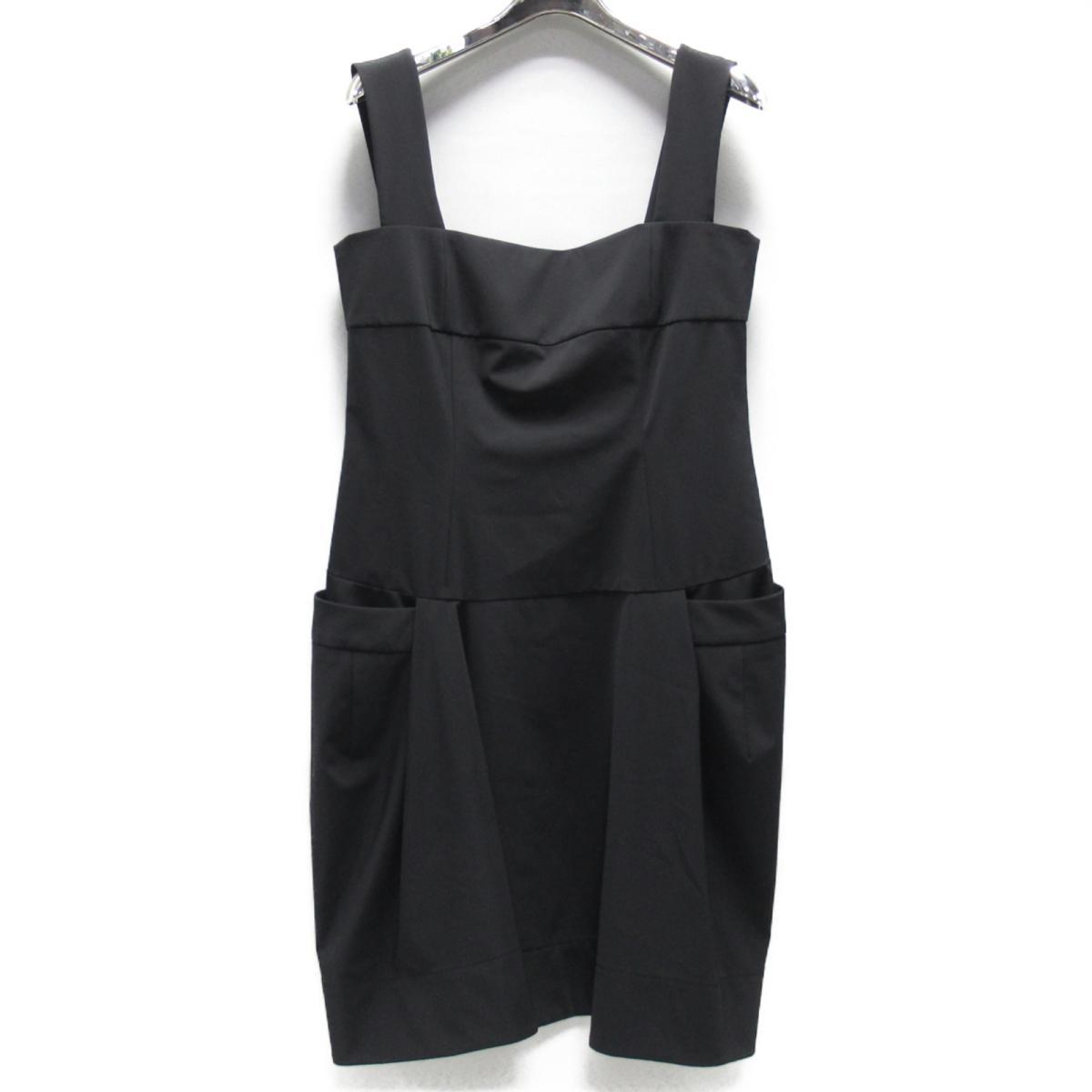 【中古】 フォクシーニューヨーク ワンピース レディース ポリエステル (85%) ポリウレタン (15%) ブラック | FOXEY NEW YORK BRANDOFF ブランドオフ 衣料品 衣類 ブランド