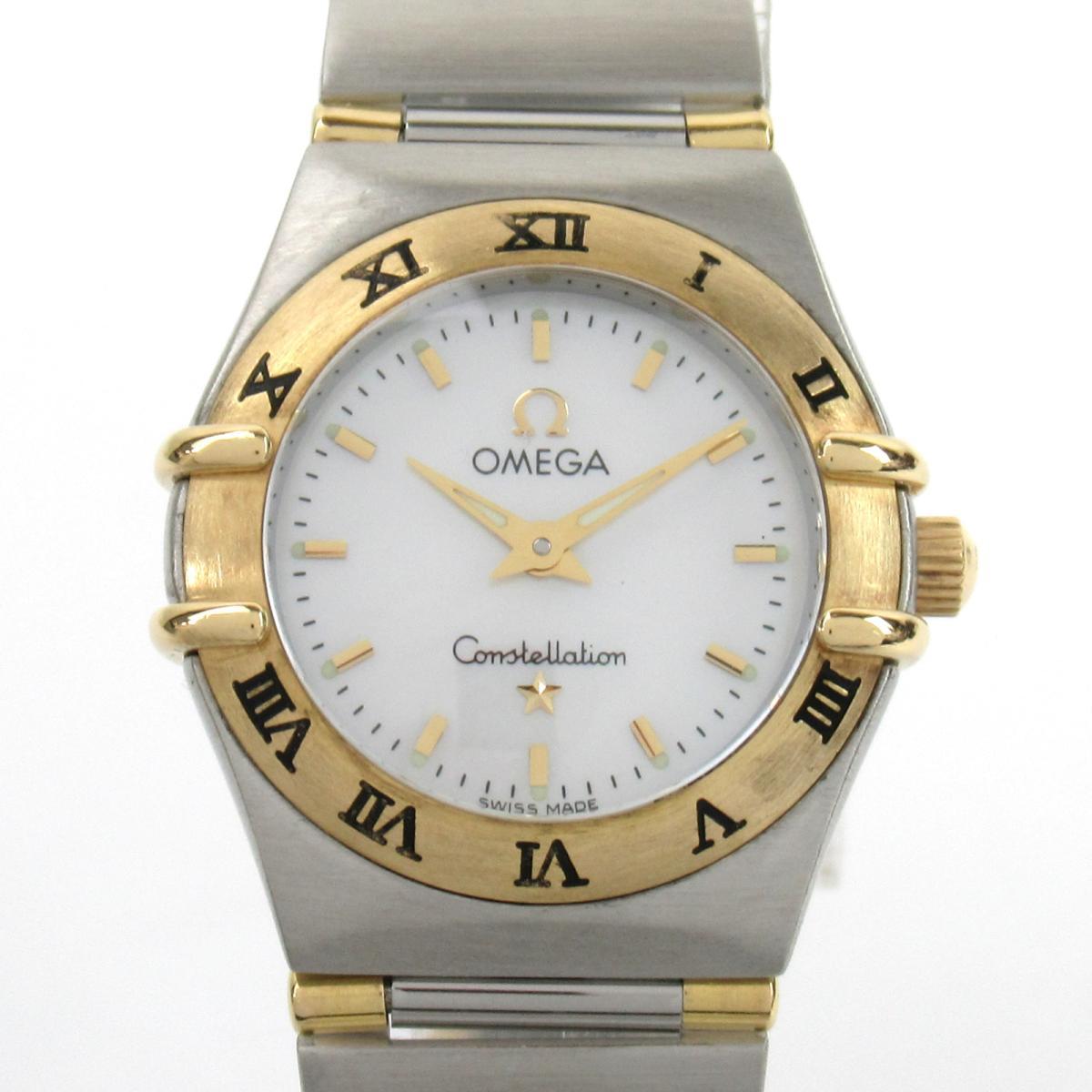 ≪期間限定≫メルマガ登録でクーポンGET! 【中古】 オメガ コンステレーション 腕時計 ウォッチ レディース ステンレススチール (SS) (1262.70) | OMEGA BRANDOFF ブランドオフ ブランド ブランド時計 ブランド腕時計 時計
