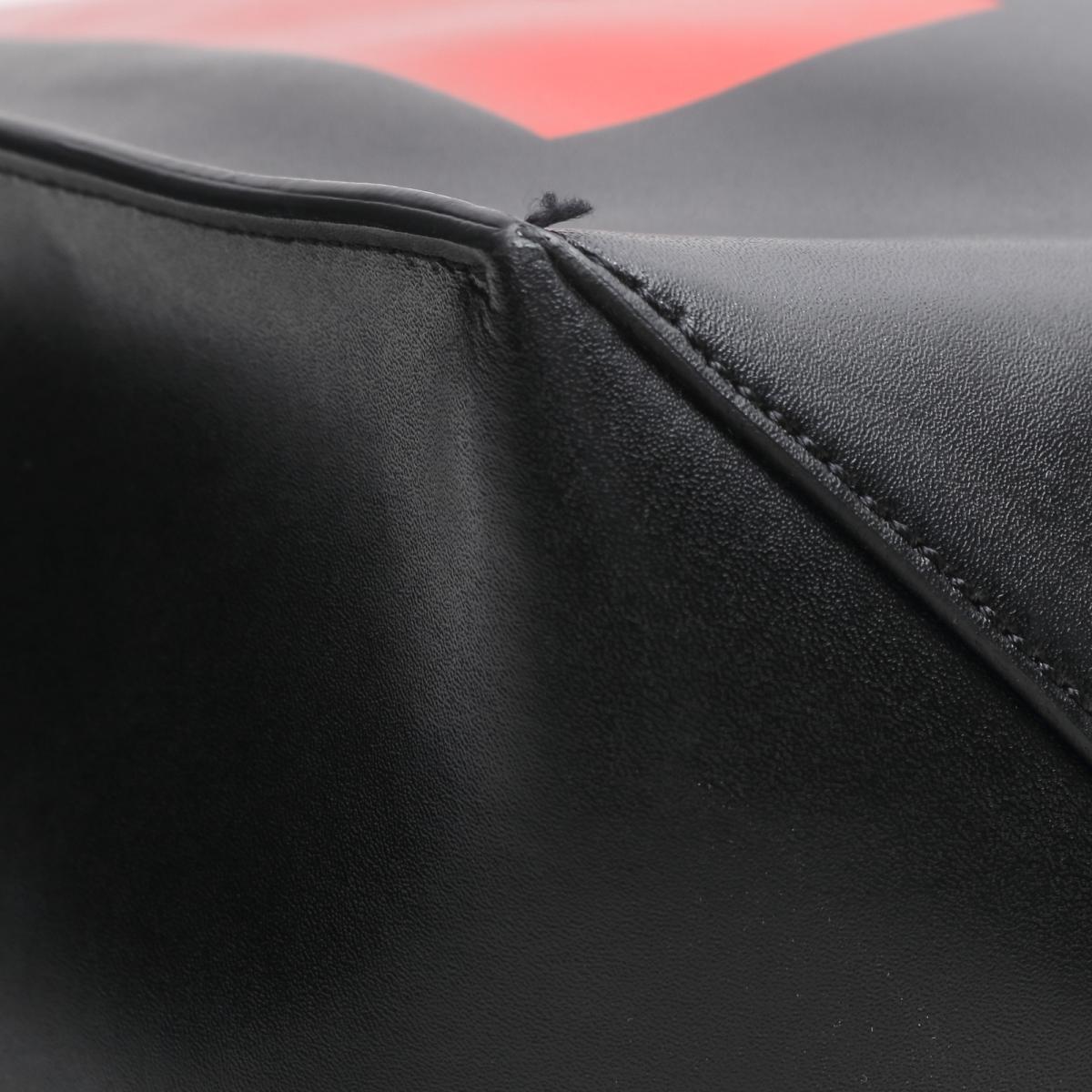 ジバンシー LOVE ロゴ トートバッグ ポーチ無 メンズ レディース レザー ブラック x メタリックレッドBB05U80780ー009GIVENCHY BRANDOFF ブランドオフ ブランド ブランドバッグ バッグ トートバック トート80PnkXwO