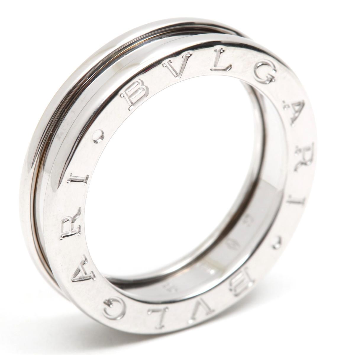 【中古】 ブルガリ B-zero1 リング XSサイズ ビーゼロワン 指輪 レディース K18WG (750) ホワイトゴールド | BVLGARI BRANDOFF ブランドオフ ブランド ジュエリー アクセサリー
