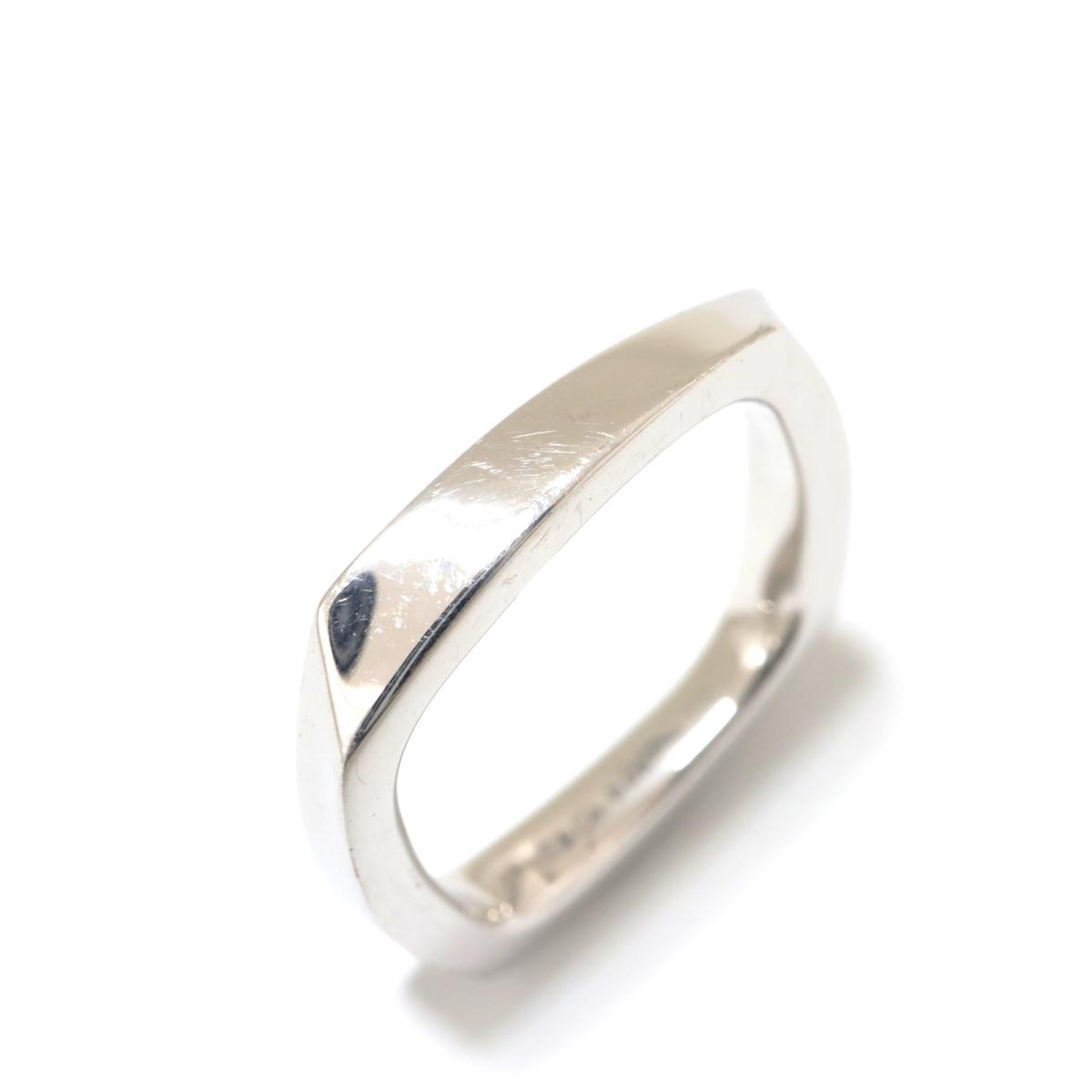 【中古】 ティファニー トルクリング 指輪 レディース K18WG (750) ホワイトゴールド シルバー | TIFFANY&CO RING ブランドオフ BRANDOFF