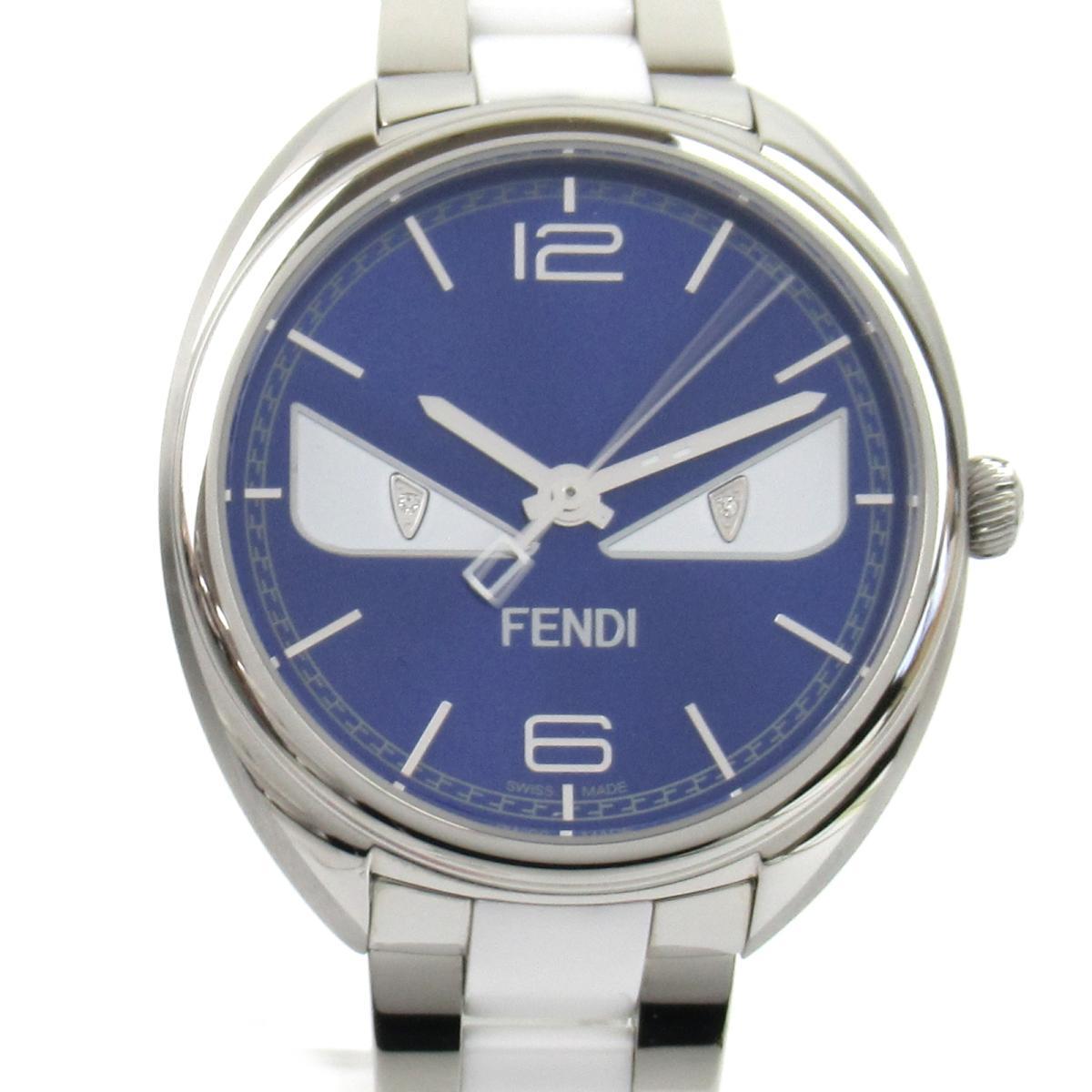 ≪期間限定≫メルマガ登録でクーポンGET! 【中古】 フェンディ バグズモンスター ウォッチ 腕時計 メンズ ステンレススチール (SS) セラミック (21000M) | FENDI BRANDOFF ブランドオフ ブランド ブランド時計 ブランド腕時計 時計