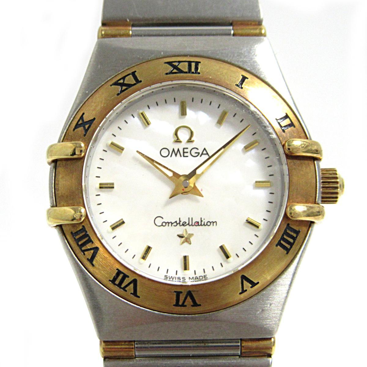 【中古】 オメガ コンステレーション・ミニ 腕時計 ウォッチ レディース ステンレススチール (SS) K18YG (750)イエローゴールド (1362.70) | OMEGA BRANDOFF ブランドオフ ブランド ブランド時計 ブランド腕時計 時計