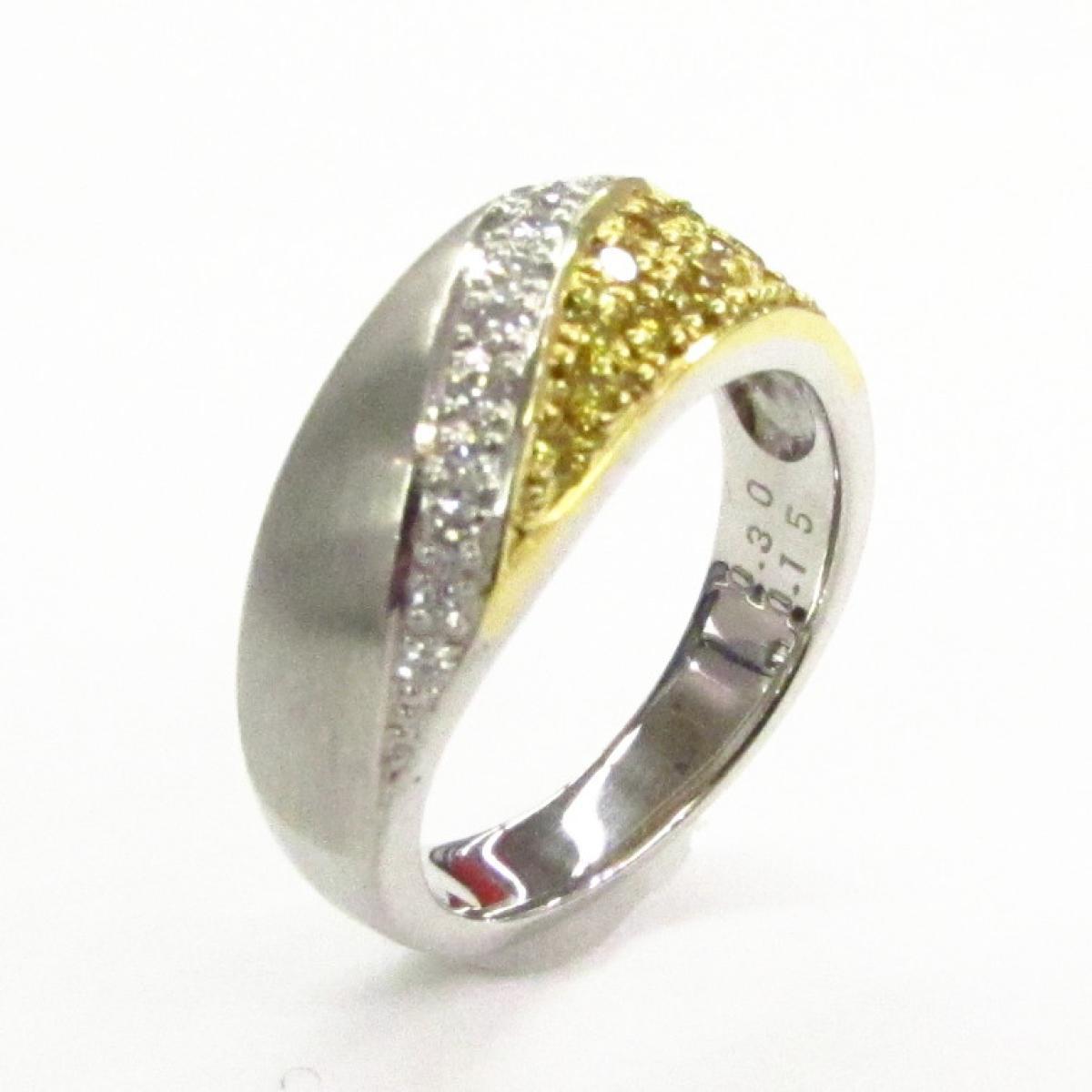 【中古】 ジュエリー ダイヤモンドリング レディース PT900 プラチナ x ダイヤモンド (0.30ct)   JEWELRY BRANDOFF ブランドオフ ブランド アクセサリー 指輪 リング