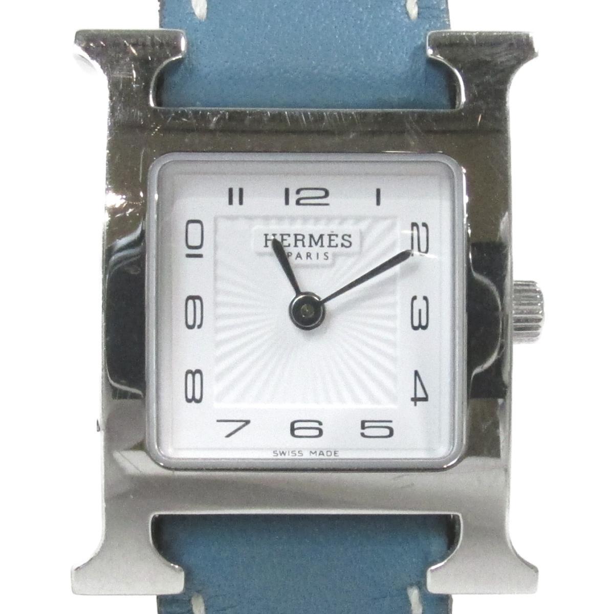 ≪期間限定≫メルマガ登録でクーポンGET! 【中古】 エルメス Hウォッチ 腕時計 ウォッチ レディース ステンレススチール (SS) ヴォースイフト ホワイト (HH1.210)   HERMES BRANDOFF ブランドオフ ブランド ブランド時計 ブランド腕時計 時計
