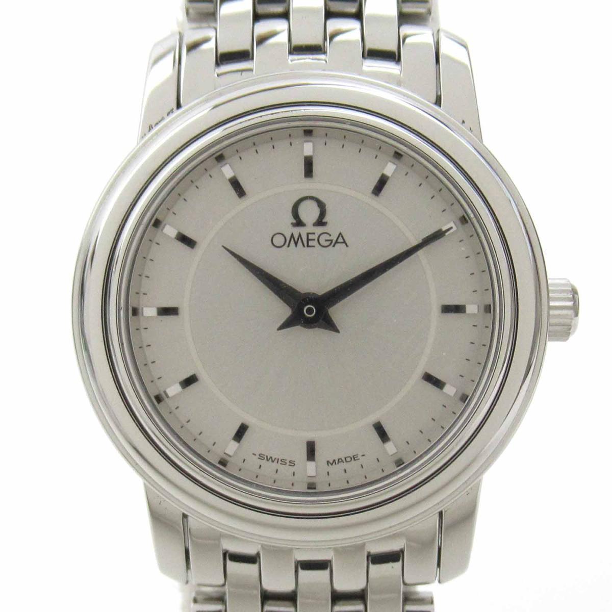 ≪期間限定≫メルマガ登録でクーポンGET! 【中古】 オメガ デ・ビル プレステージ ウォッチ 腕時計 レディース ステンレススチール (SS) (4570.31) | OMEGA BRANDOFF ブランドオフ ブランド ブランド時計 ブランド腕時計 時計