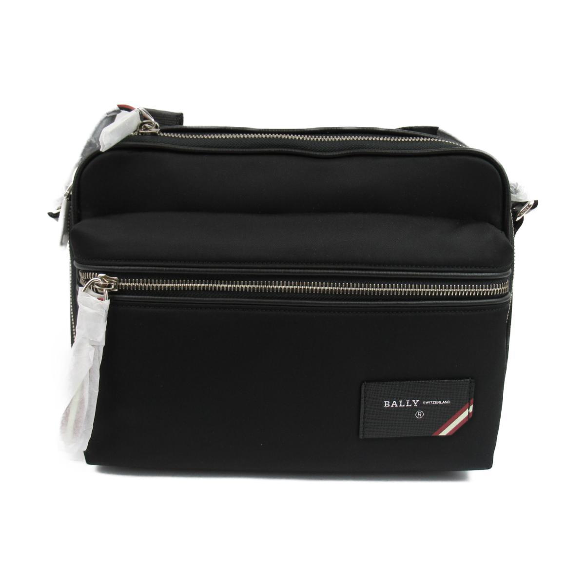バリー FIJI ナイロン ワンショルダーバッグ メンズ ファブリック ブラック レッド ホワイト (6226347) | BALLY BRANDOFF ブランドオフ レディース ブランド ブランドバッグ バッグ バック ショルダーバッグ