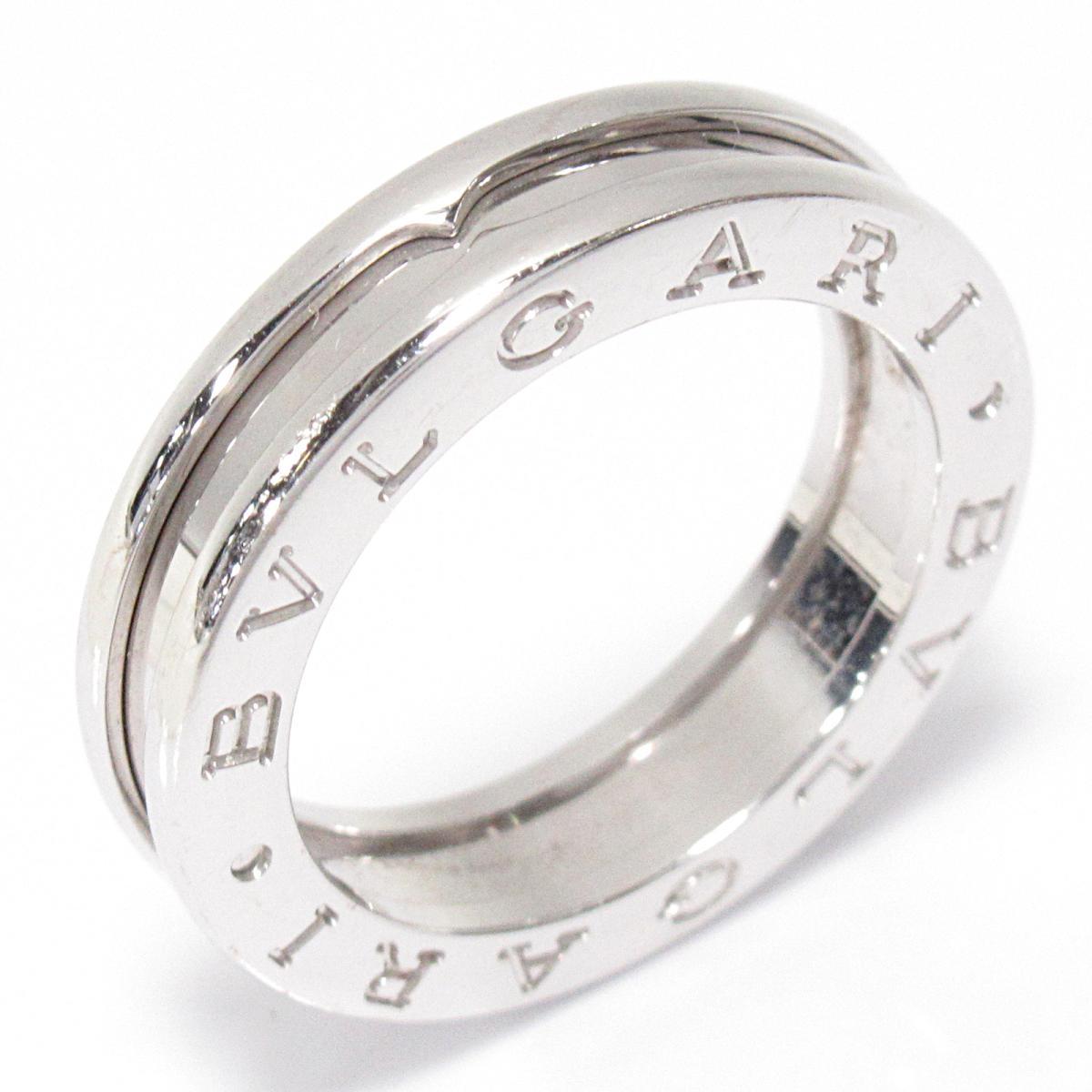 【中古】 ブルガリ B-zero1 ビーゼロワンリング 指輪 x Sサイズ メンズ レディース K18WG (750) ホワイトゴールド | BVLGARI BRANDOFF ブランドオフ ブランド ジュエリー アクセサリー リング