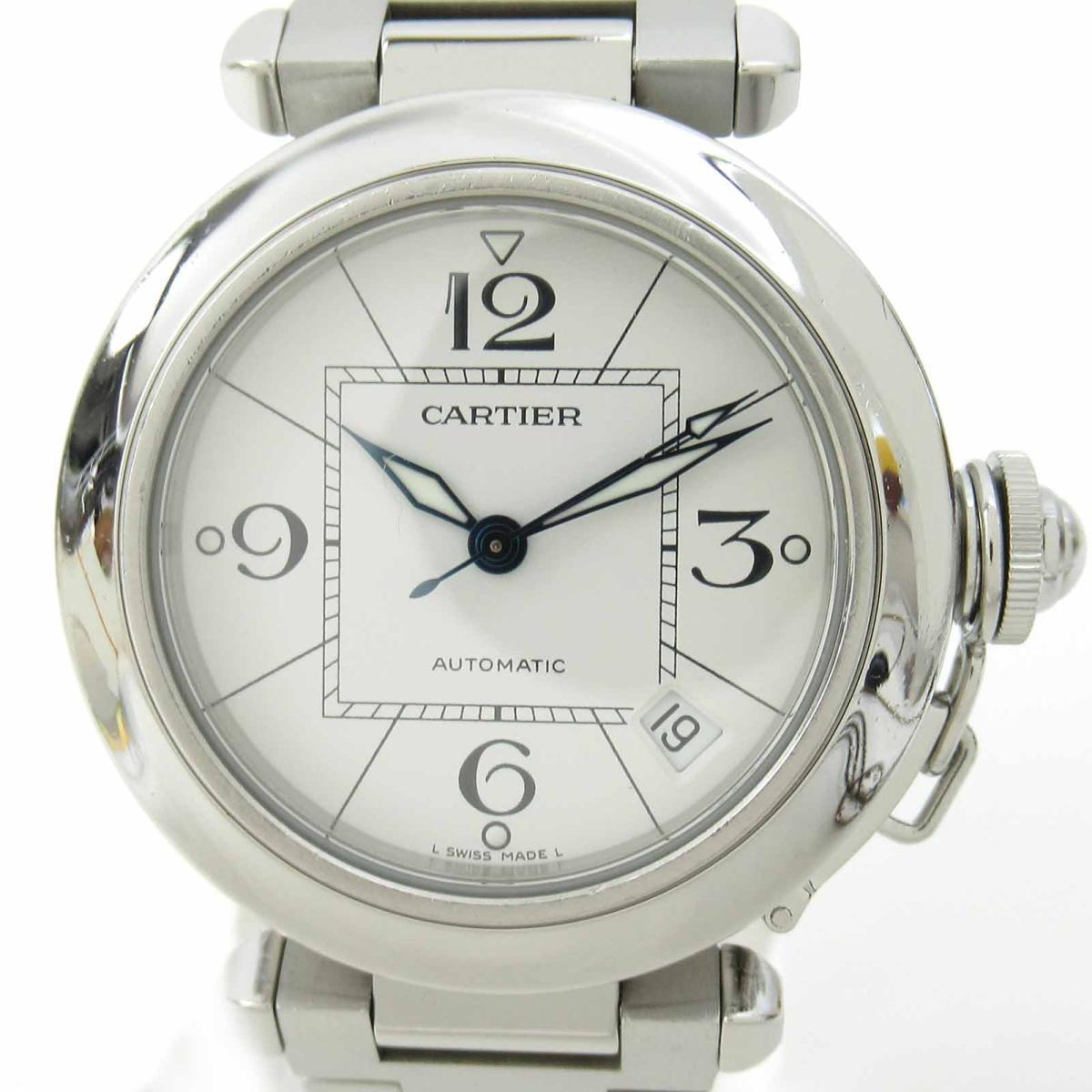≪期間限定≫メルマガ登録でクーポンGET! 【中古】 カルティエ パシャC ウォッチ 腕時計 メンズ ステンレススチール (SS) | Cartier BRANDOFF ブランドオフ ブランド ブランド時計 ブランド腕時計 時計