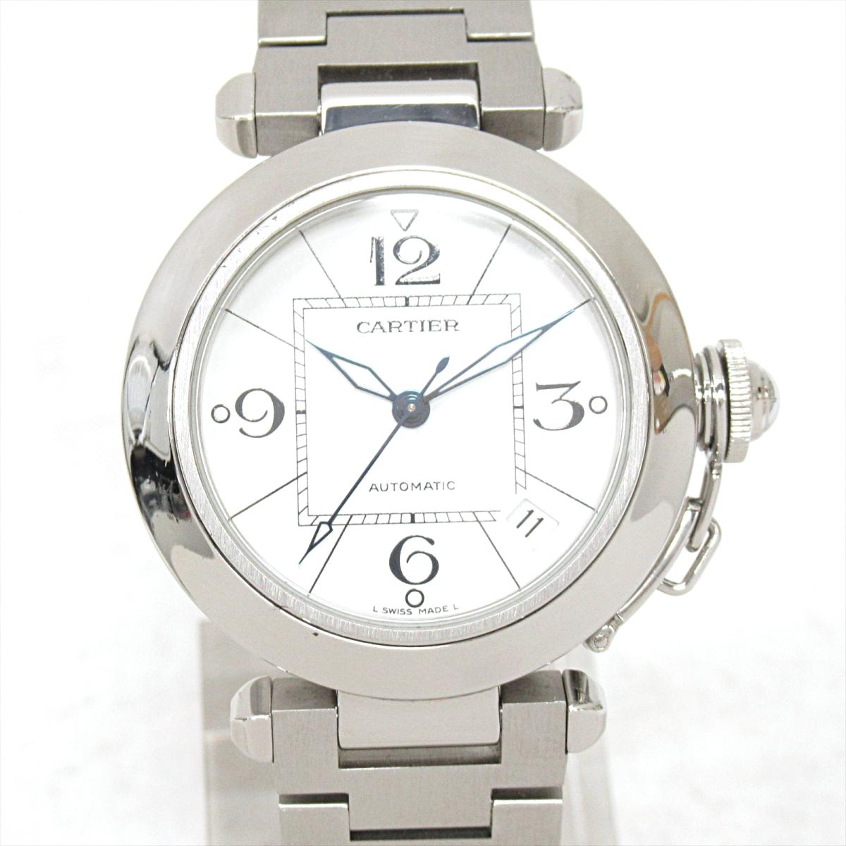 ≪期間限定≫メルマガ登録でクーポンGET! 【中古】 カルティエ パシャ 腕時計 ウォッチ メンズ ステンレススチール (SS) | Cartier BRANDOFF ブランドオフ ブランド ブランド時計 ブランド腕時計 時計