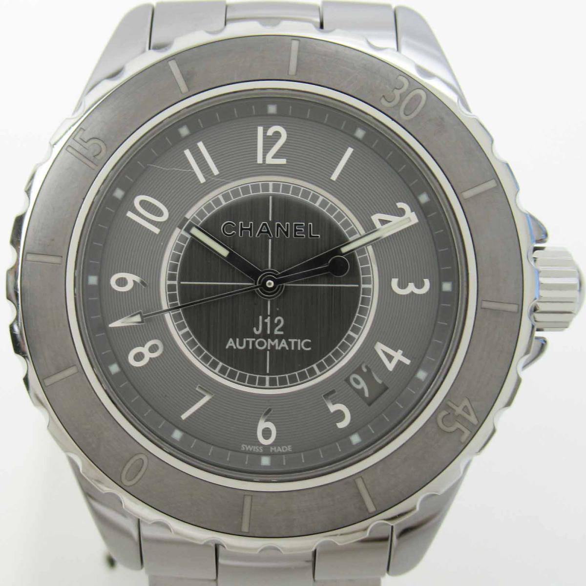 ≪期間限定≫メルマガ登録でクーポンGET! 【中古】 シャネル J12 クロマティック ウォッチ 腕時計 メンズ セラミック チタン (H2979) | CHANEL BRANDOFF ブランドオフ ブランド ブランド時計 ブランド腕時計 時計