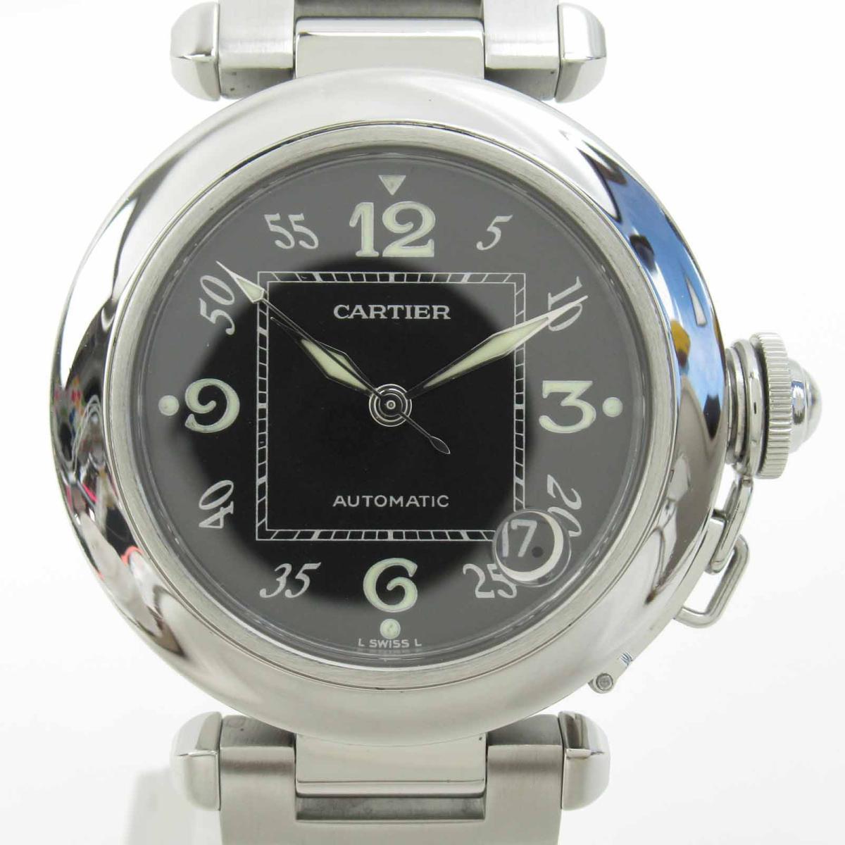 ≪期間限定≫メルマガ登録でクーポンGET! 【中古】 カルティエ パシャC ウォッチ 腕時計 メンズ ステンレススチール (SS) (W31043M7) | Cartier BRANDOFF ブランドオフ ブランド ブランド時計 ブランド腕時計 時計