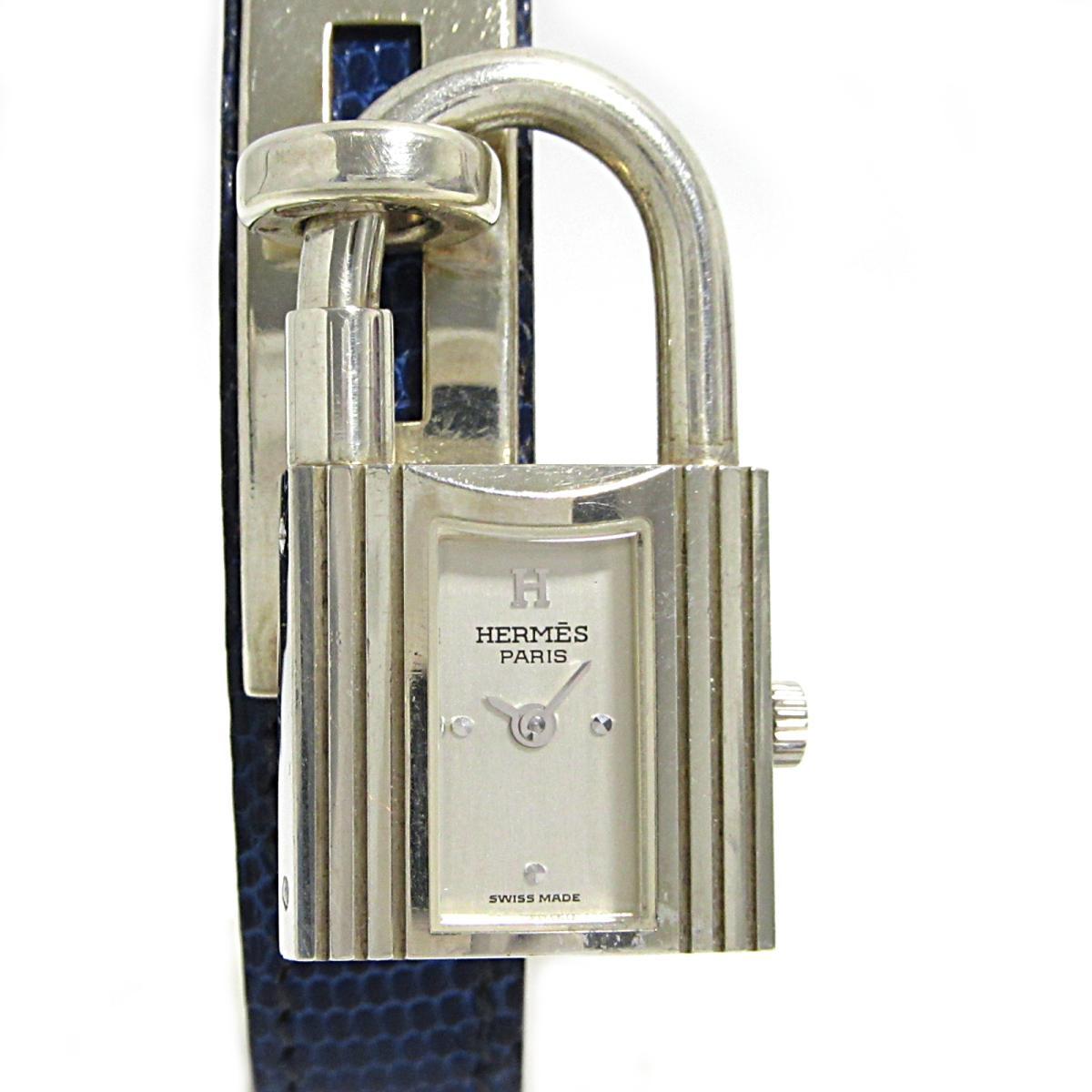 【中古】 エルメス ケリーウォッチ 腕時計 ウォッチ レディース シルバー925 リザード | HERMES BRANDOFF ブランドオフ ブランド ブランド時計 ブランド腕時計 時計