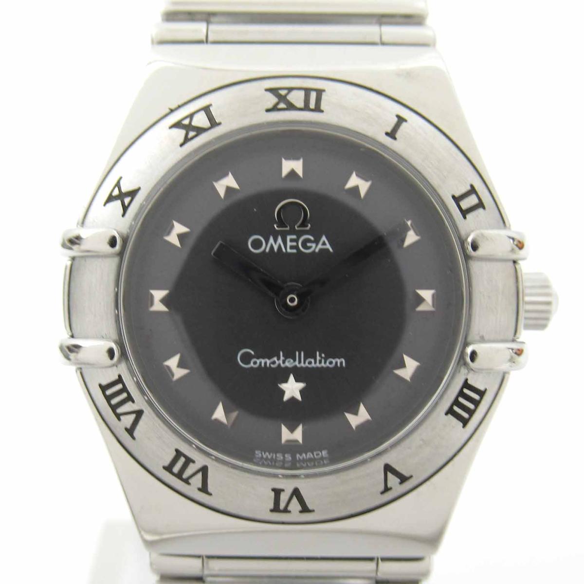 【中古】 オメガ コンステレーション ミニ マイチョイス ウォッチ 腕時計 レディース ステンレススチール (SS) (1561.51) | OMEGA BRANDOFF ブランドオフ ブランド ブランド時計 ブランド腕時計 時計