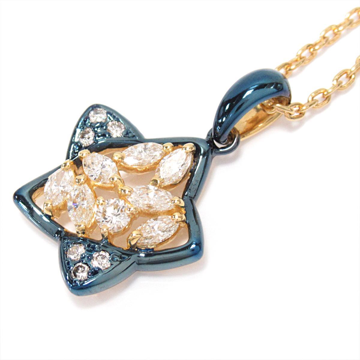 【中古】 サザンクロス ダイヤモンドネックレス レディース K18YG (750) イエローゴールド x ダイヤモンド (石目なし) | Southern Cross BRANDOFF ブランドオフ ブランド アクセサリー ネックレス ペンダント