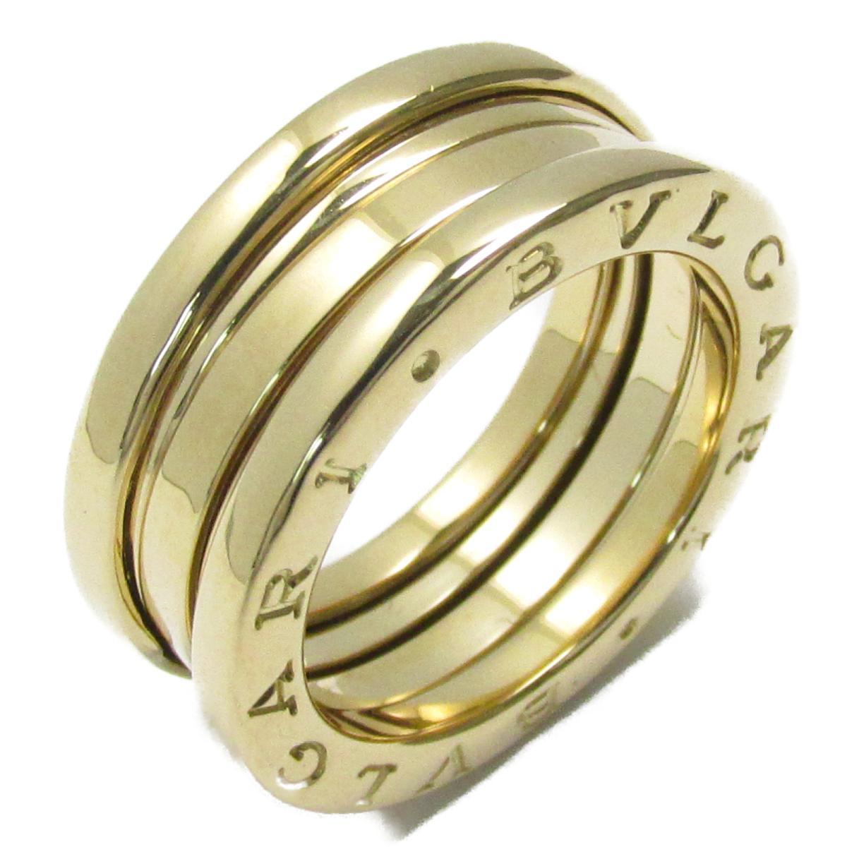 【中古】 ブルガリ B-zero1 リング Sサイズ ビーゼロワン 指輪 レディース K18YG (750) イエローゴールド ゴールド | BVLGARI BRANDOFF ブランドオフ ブランド ジュエリー アクセサリー