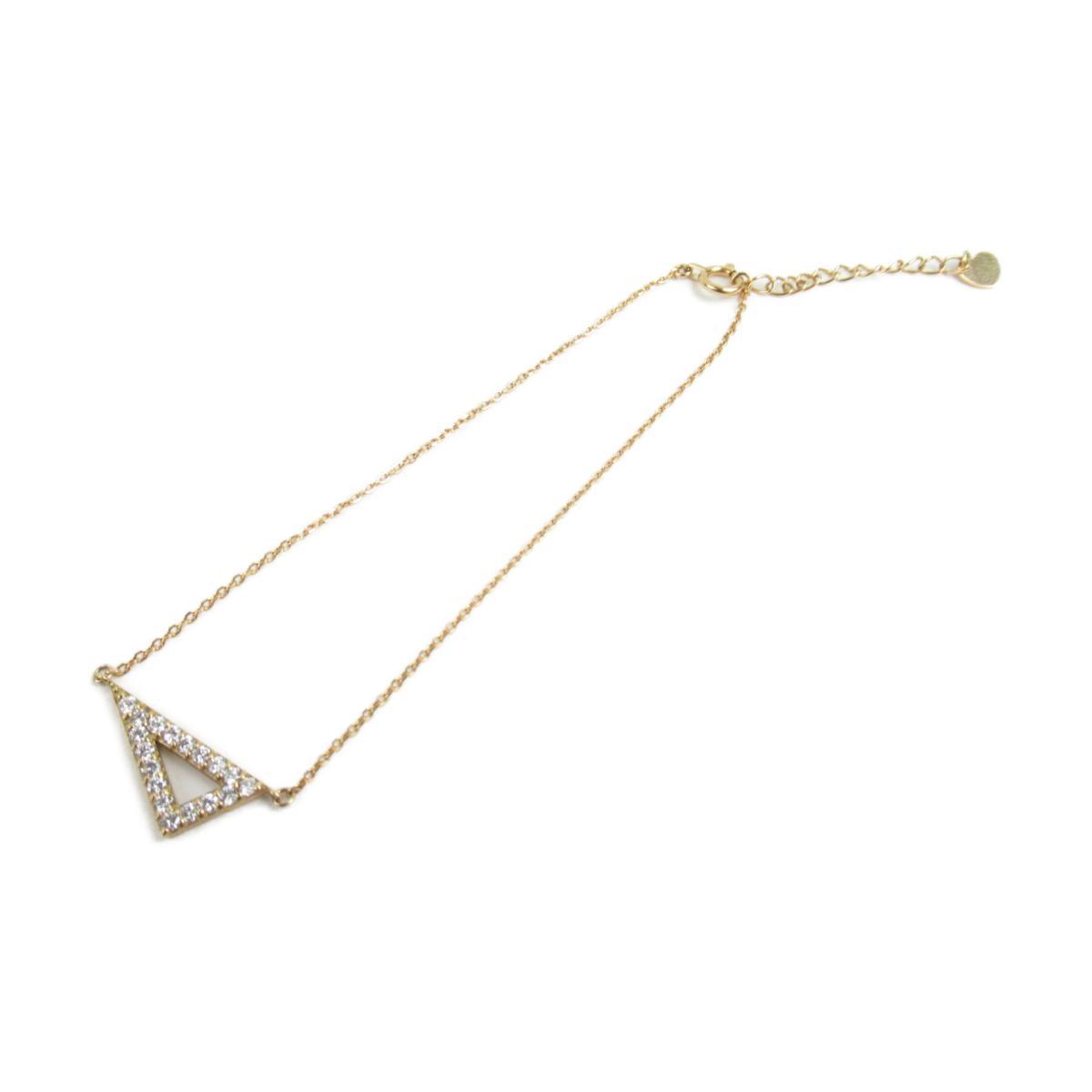 【中古】 ジュエリー ダイヤモンド ブレスレット レディース K18YG (750) イエローゴールド x ダイヤモンド0.25ct | JEWELRY BRANDOFF ブランドオフ ブランド アクセサリー 腕輪
