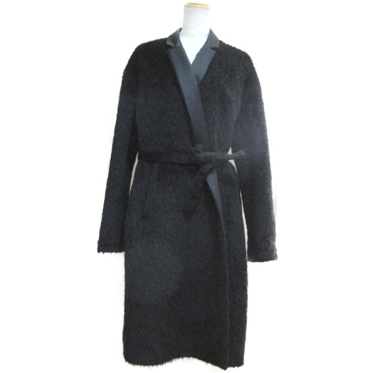【中古】 ロシャス コート レディース ウール100% ブラック | ROCHAS BRANDOFF ブランドオフ 衣料品 衣類 ブランド アウター ジャケット