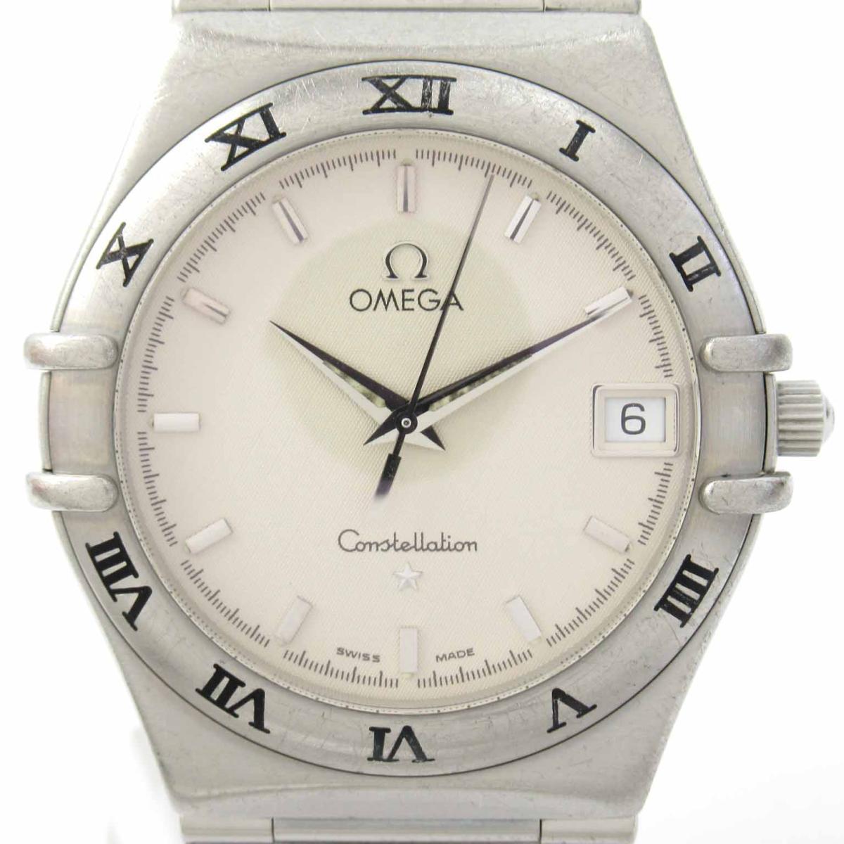≪期間限定≫メルマガ登録でクーポンGET! 【中古】 オメガ コンステレーション ウォッチ 腕時計 メンズ ステンレススチール (SS) (1512.30) | OMEGA BRANDOFF ブランドオフ ブランド ブランド時計 ブランド腕時計 時計