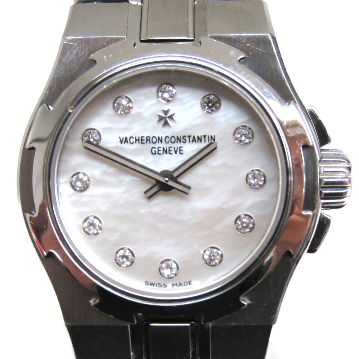 ≪期間限定≫メルマガ登録でクーポンGET! 【中古】 ヴァシュロン・コンスタンタン オーバーシーズ 腕時計 レディース ステンレススチール (SS) ダイヤモンド (16050) | VACHERON CONSTANTIN BRANDOFF ブランドオフ ブランド ブランド時計 ブランド腕時計 時計