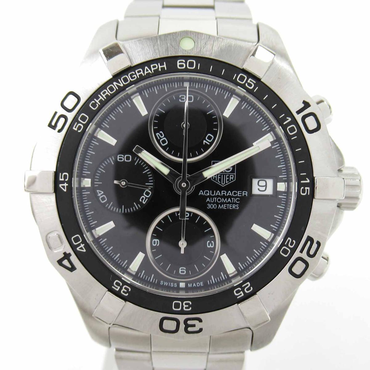 ≪期間限定≫メルマガ登録でクーポンGET! 【中古】 タグ・ホイヤー アクアレーサー ウォッチ 腕時計 メンズ ステンレススチール (SS) (CAF2110) | TAG HEUER BRANDOFF ブランドオフ ブランド ブランド時計 ブランド腕時計 時計