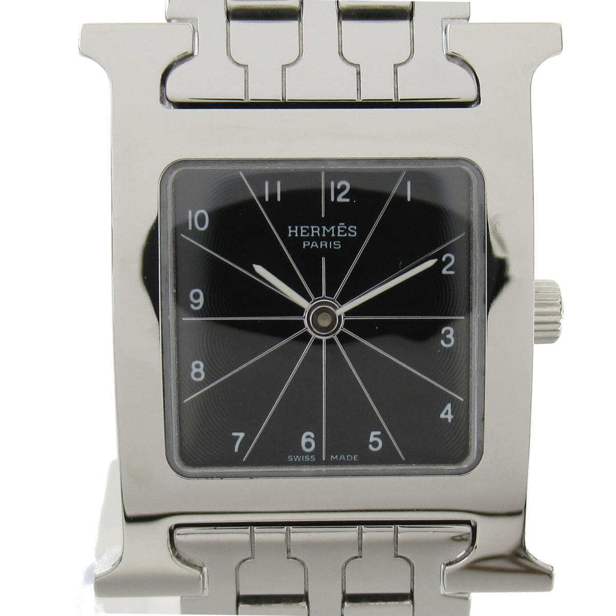 ≪期間限定≫メルマガ登録でクーポンGET! 【中古】 エルメス Hウォッチ ウォッチ 腕時計 レディース ステンレススチール (SS) (HH1.210) | HERMES BRANDOFF ブランドオフ ブランド ブランド時計 ブランド腕時計 時計