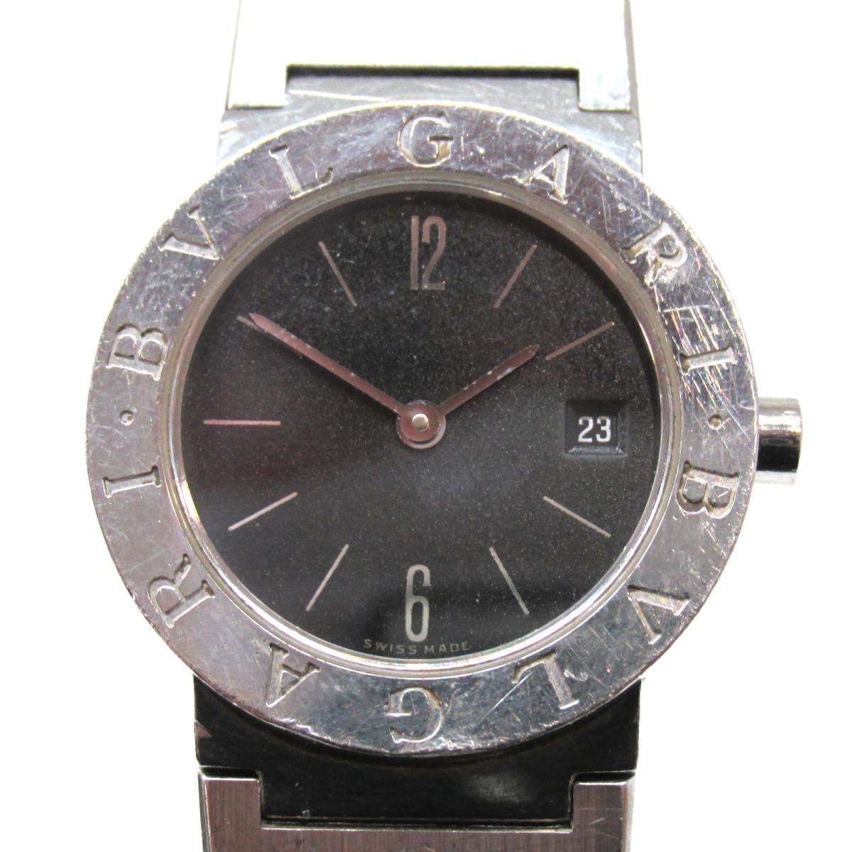 【中古】 ブルガリ ブルガリ 腕時計 ウォッチ レディース ステンレススチール (SS) | BVLGARI BRANDOFF ブランドオフ ブランド ブランド時計 ブランド腕時計 時計