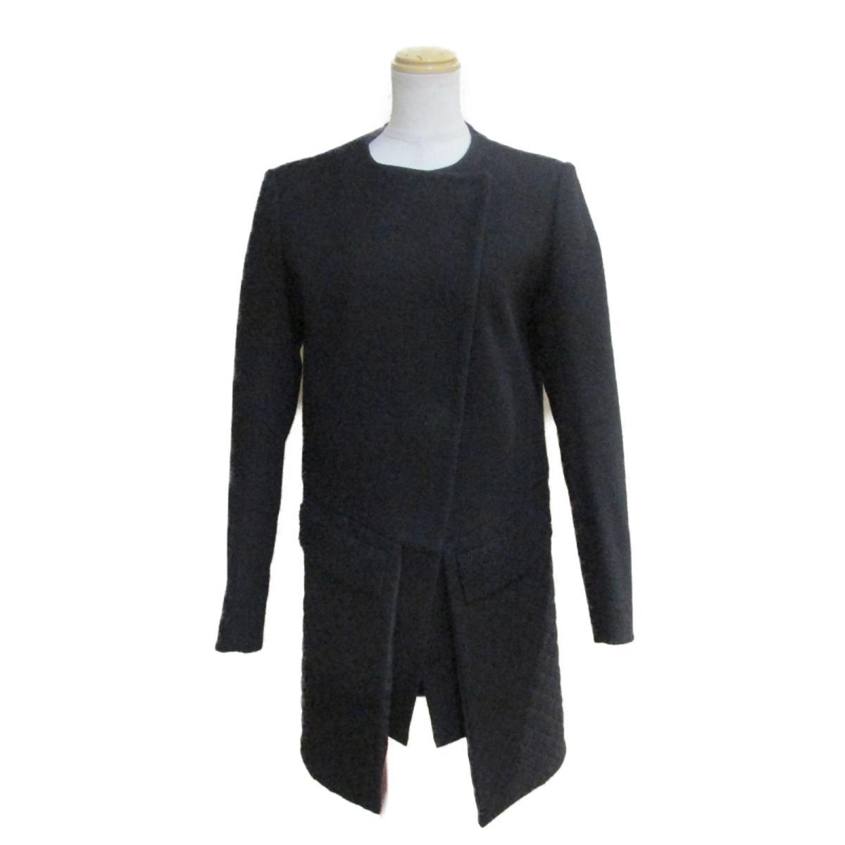 【中古】 フェンディ コート レディース ウール100% ブラック   FENDI BRANDOFF ブランドオフ 衣料品 衣類 ブランド アウター ジャケット