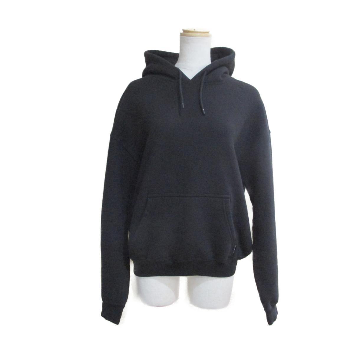 【中古】 バレンシアガ パーカー レディース コットン100% ブラック   BALENCIAGA BRANDOFF ブランドオフ 衣料品 衣類 ブランド トップス