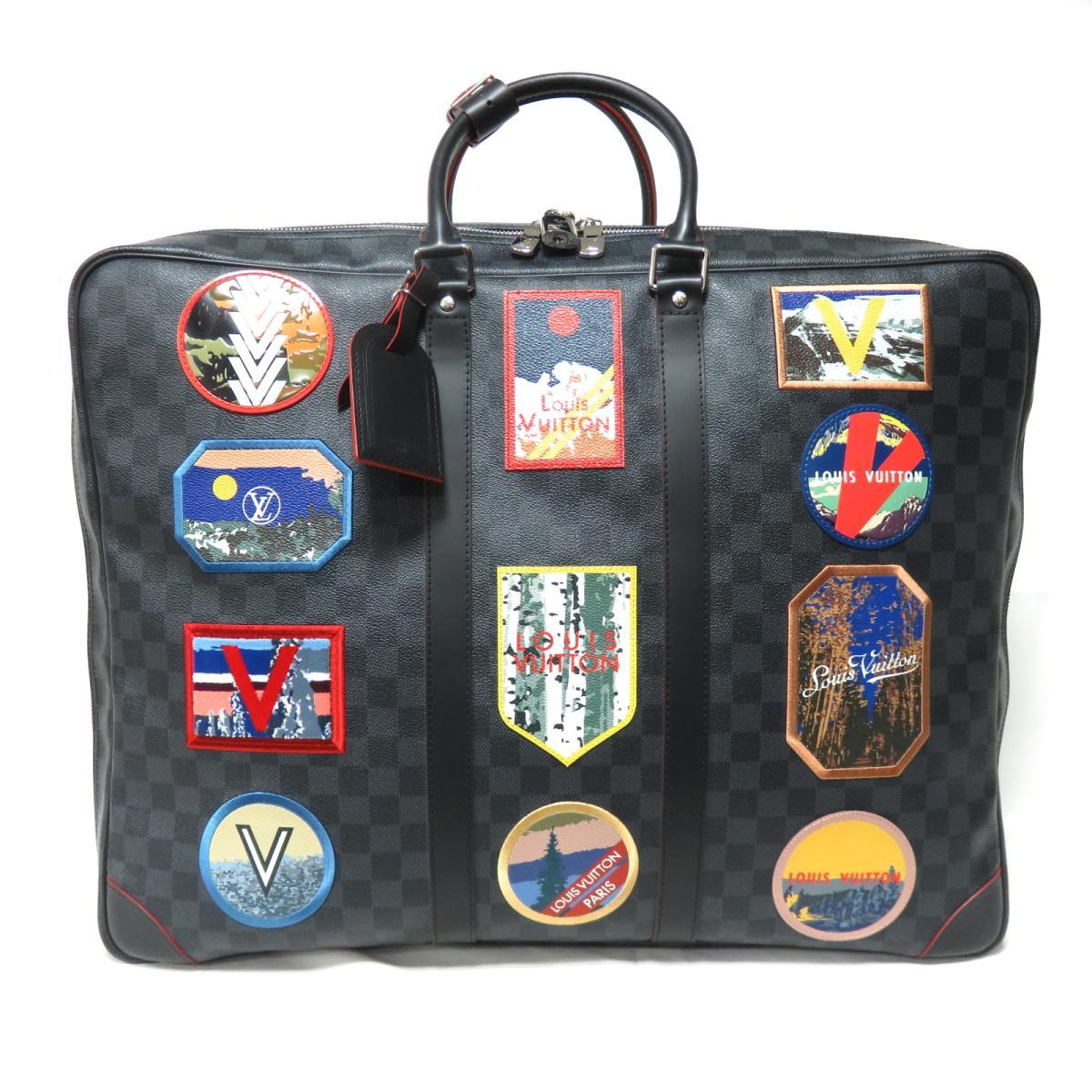 ルイヴィトン シリウス55 ボストンバッグ トラベルバッグ スーツケース メンズ ダミエ・グラフィット (N40056) | LOUIS VUITTON BRANDOFF ブランドオフ ヴィトン ルイ・ヴィトン ブランド ブランドバッグ ブランドバック バッグ バック ボストンバック 旅行 大容量:Brandoff銀座