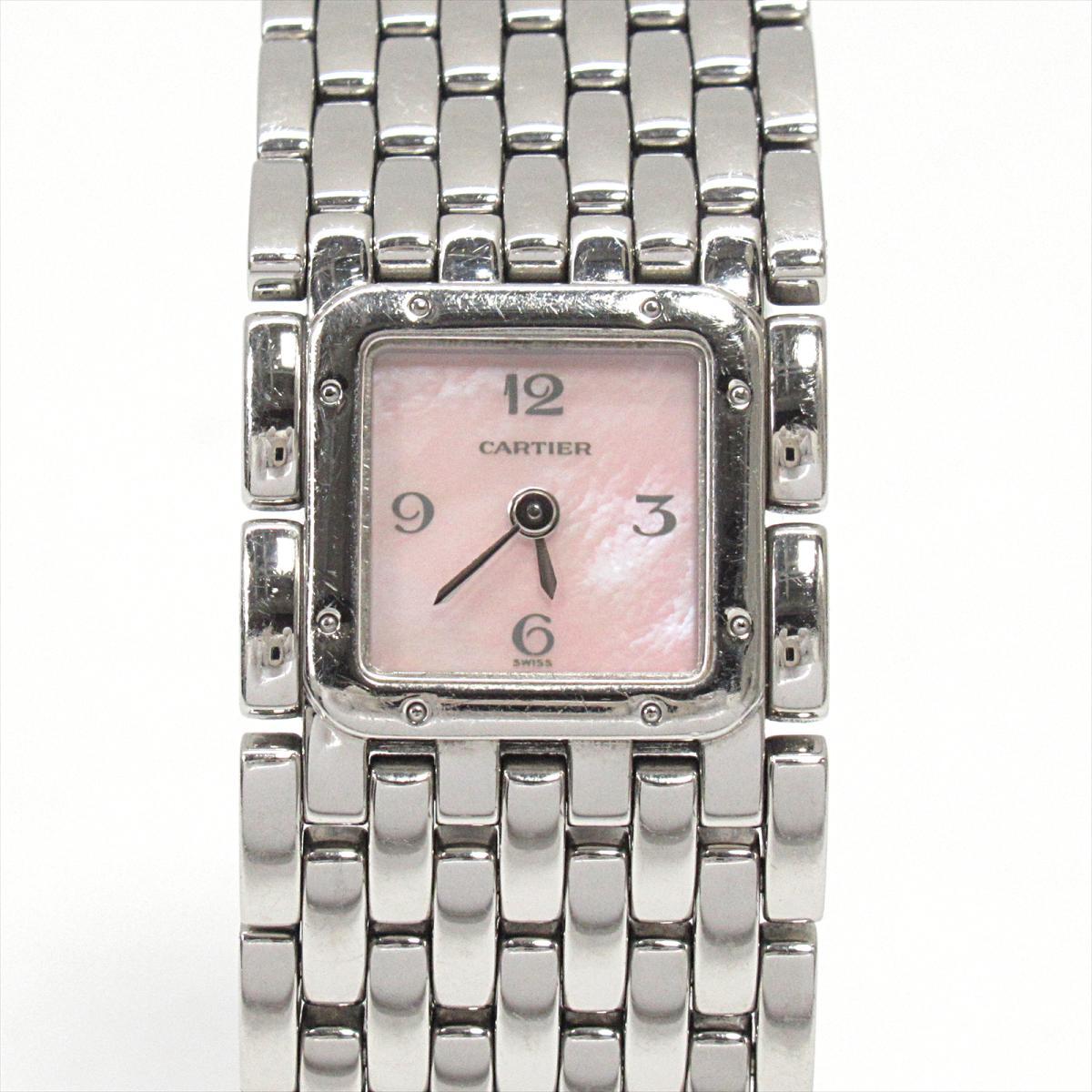 ≪期間限定≫メルマガ登録でクーポンGET! 【中古】 カルティエ リュバン 腕時計 ウォッチ レディース ステンレススチール (SS) | Cartier BRANDOFF ブランドオフ ブランド ブランド時計 ブランド腕時計 時計