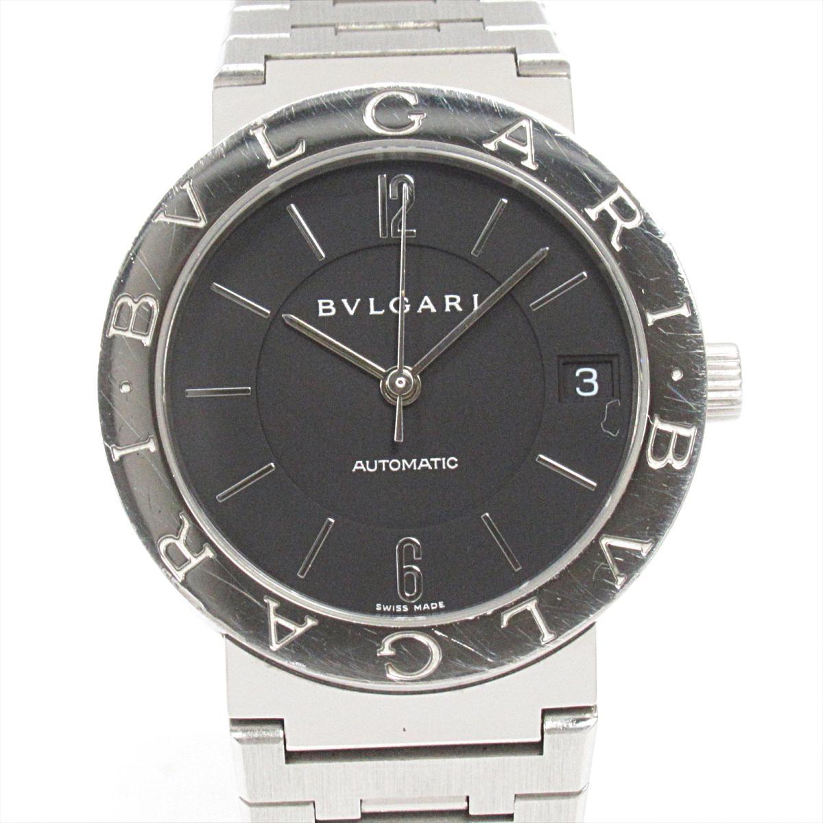 【中古】 ブルガリ ブルガリブルガリ 腕時計 ウォッチ メンズ レディース ステンレススチール (SS) (BB33SS) | BVLGARI BRANDOFF ブランドオフ ブランド ブランド時計 ブランド腕時計 時計
