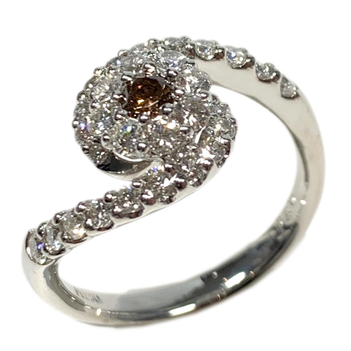 【中古】 ジュエリー ダイヤモンド リング 指輪 レディース PT900 プラチナ x 0.8ct シルバー | JEWELRY BRANDOFF ブランドオフ ブランド アクセサリー