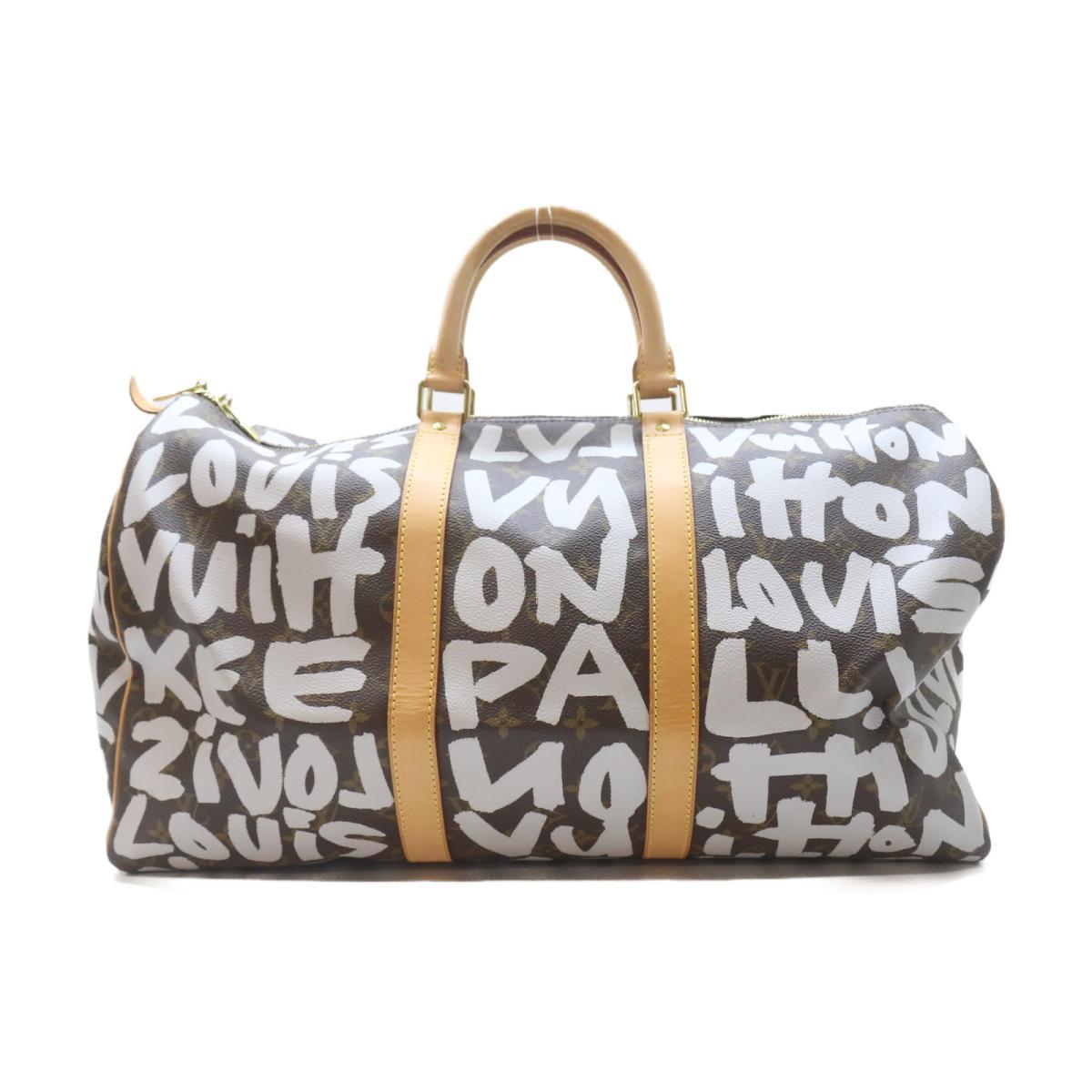 ルイヴィトン キーポル50 ボストンバッグ バッグ メンズ レディース モノグラム・グラフィティ アルジャン (M92197) 【中古】 | ブランド