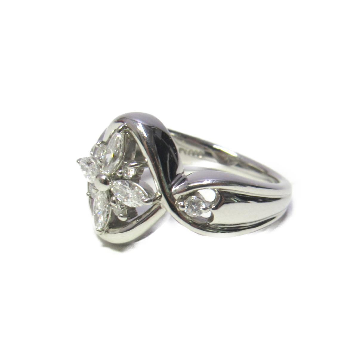 【中古】ジュエリー リング レディース PT900 プラチナ x ダイヤモンド0.56 | JEWELRY BRANDOFF ブランドオフ ブランド ジュエリー アクセサリー 指輪