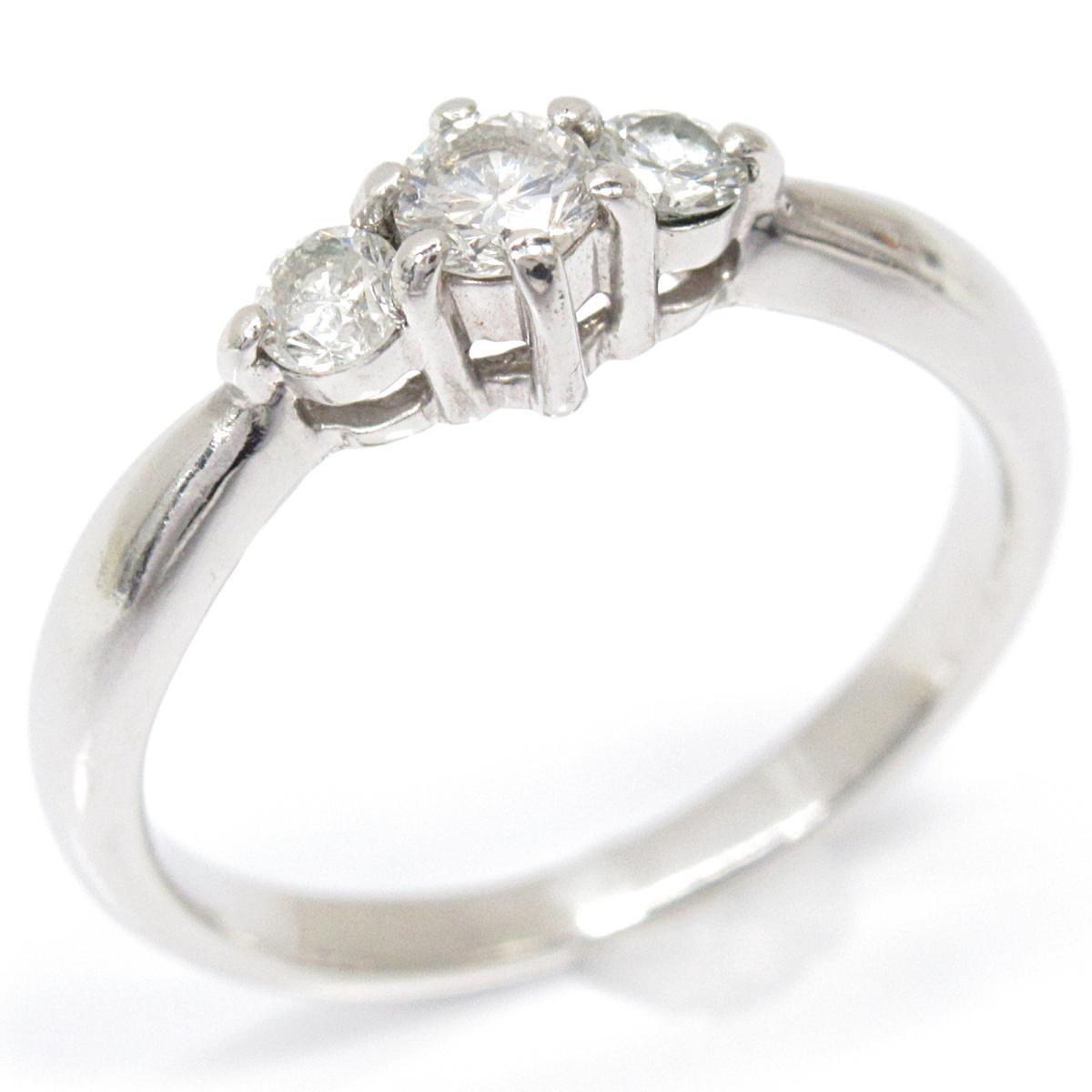 【中古】 ジュエリー ダイヤモンドリング 指輪 レディース PT900 プラチナ x ダイヤモンド (0.30ct) | JEWELRY BRANDOFF ブランドオフ ブランド ジュエリー アクセサリー リング
