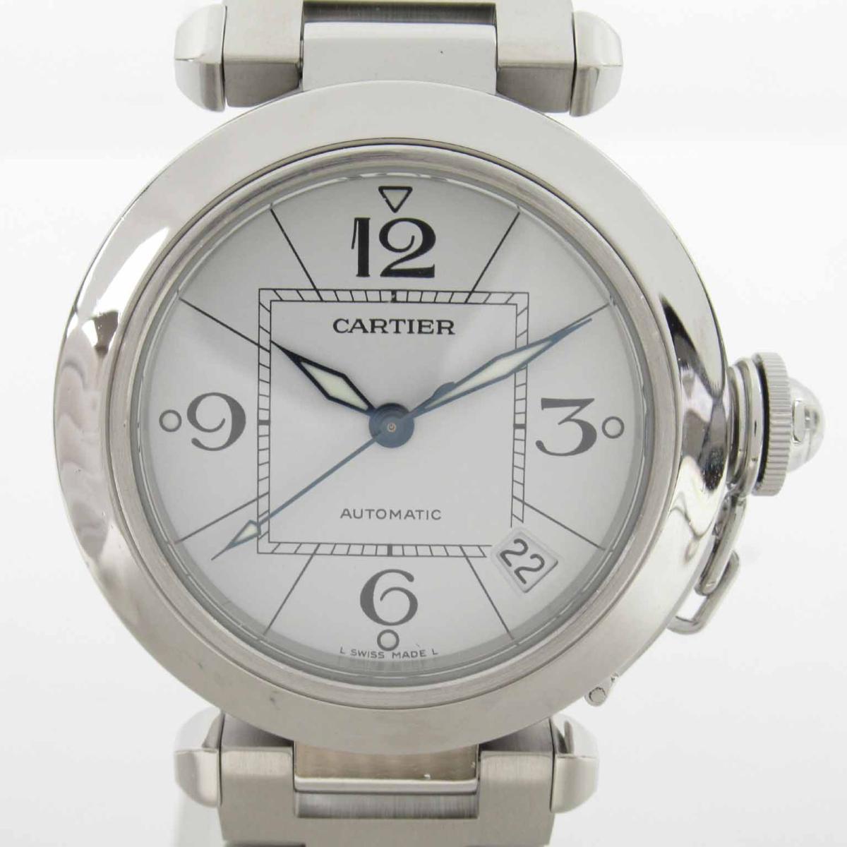 【中古】 カルティエ パシャC ウォッチ 腕時計 メンズ ステンレススチール (SS) (W31074M7) | Cartier BRANDOFF ブランドオフ ブランド ブランド時計 ブランド腕時計 時計