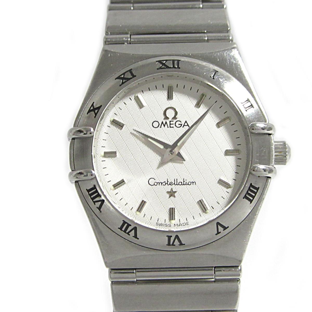 ≪期間限定≫メルマガ登録でクーポンGET! 【中古】 オメガ コンステレーション 腕時計 ウォッチ レディース ステンレススチール (SS) (1562.30) | OMEGA BRANDOFF ブランドオフ ブランド ブランド時計 ブランド腕時計 時計
