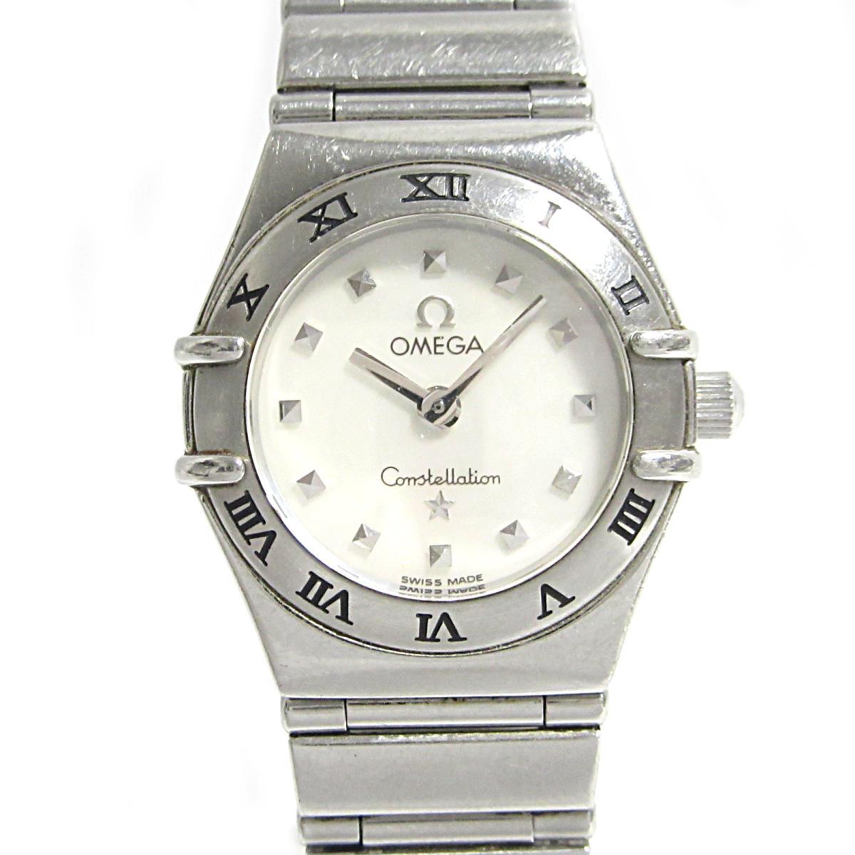 ≪期間限定≫メルマガ登録でクーポンGET! 【中古】 オメガ コンステレーション ミニ マイチョイス 腕時計 ウォッチ レディース ステンレススチール (SS) (1561.71) | OMEGA BRANDOFF ブランドオフ ブランド ブランド時計 ブランド腕時計 時計