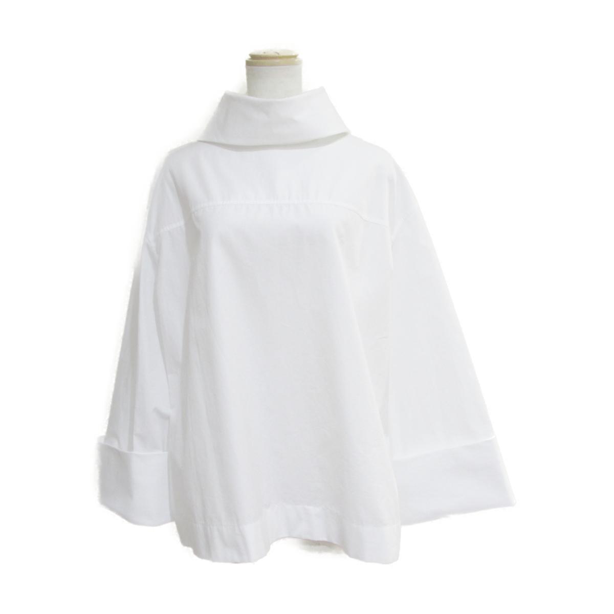 【中古】 ザ・ロー 2019 シャツ レディース コットン100% ホワイト | THE ROW BRANDOFF ブランドオフ 衣料品 衣類 ブランド トップス ブラウス