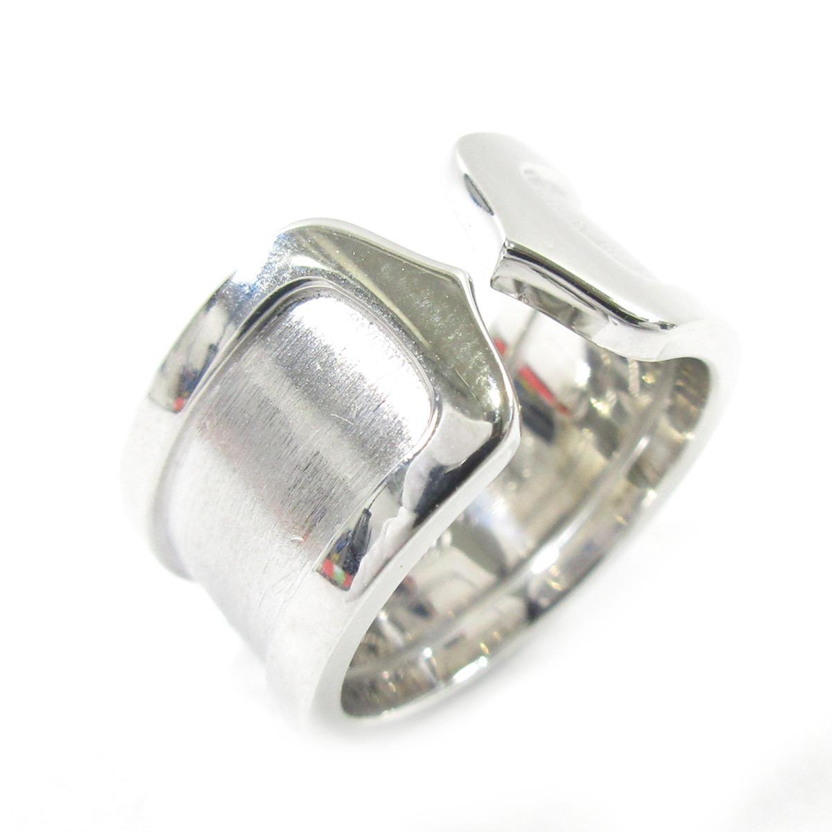 【中古】 カルティエ C2 リング LM 指輪 レディース K18WG (750) ホワイトゴールド シルバー   Cartier BRANDOFF ブランドオフ ブランド ジュエリー アクセサリー