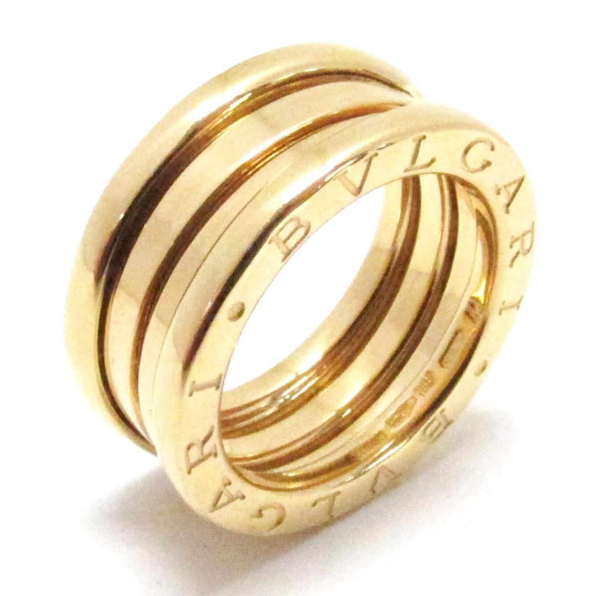 【中古】 ブルガリ B-zero1 リング Sサイズ ビーゼロワン 指輪 メンズ レディース K18YG (750) イエローゴールド | BVLGARI BRANDOFF ブランドオフ ブランド ジュエリー アクセサリー