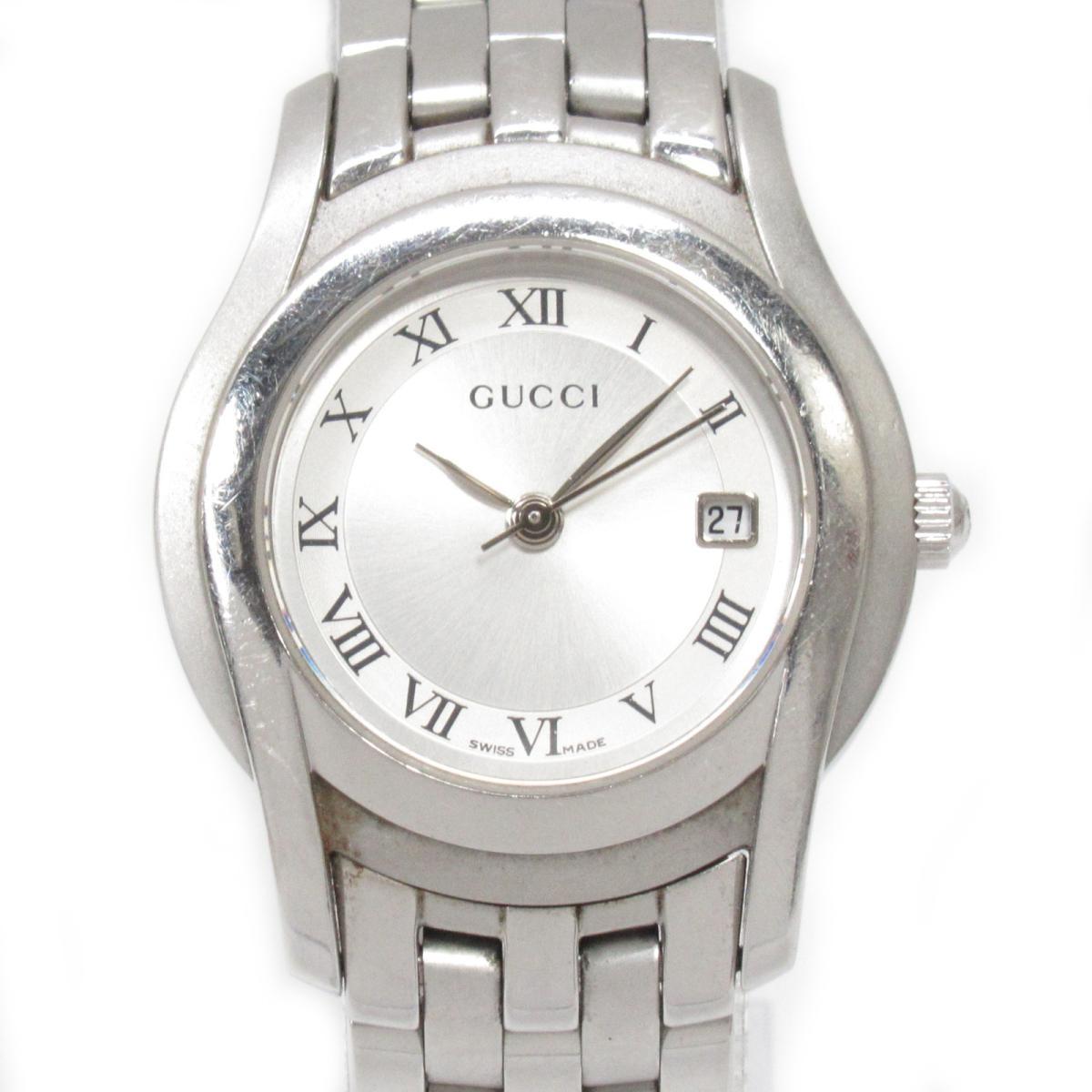 【中古】 グッチ Gクラス 腕時計 ウォッチ レディース ステンレススチール (SS) (5500L) | GUCCI BRANDOFF ブランドオフ ブランド ブランド時計 ブランド腕時計 時計