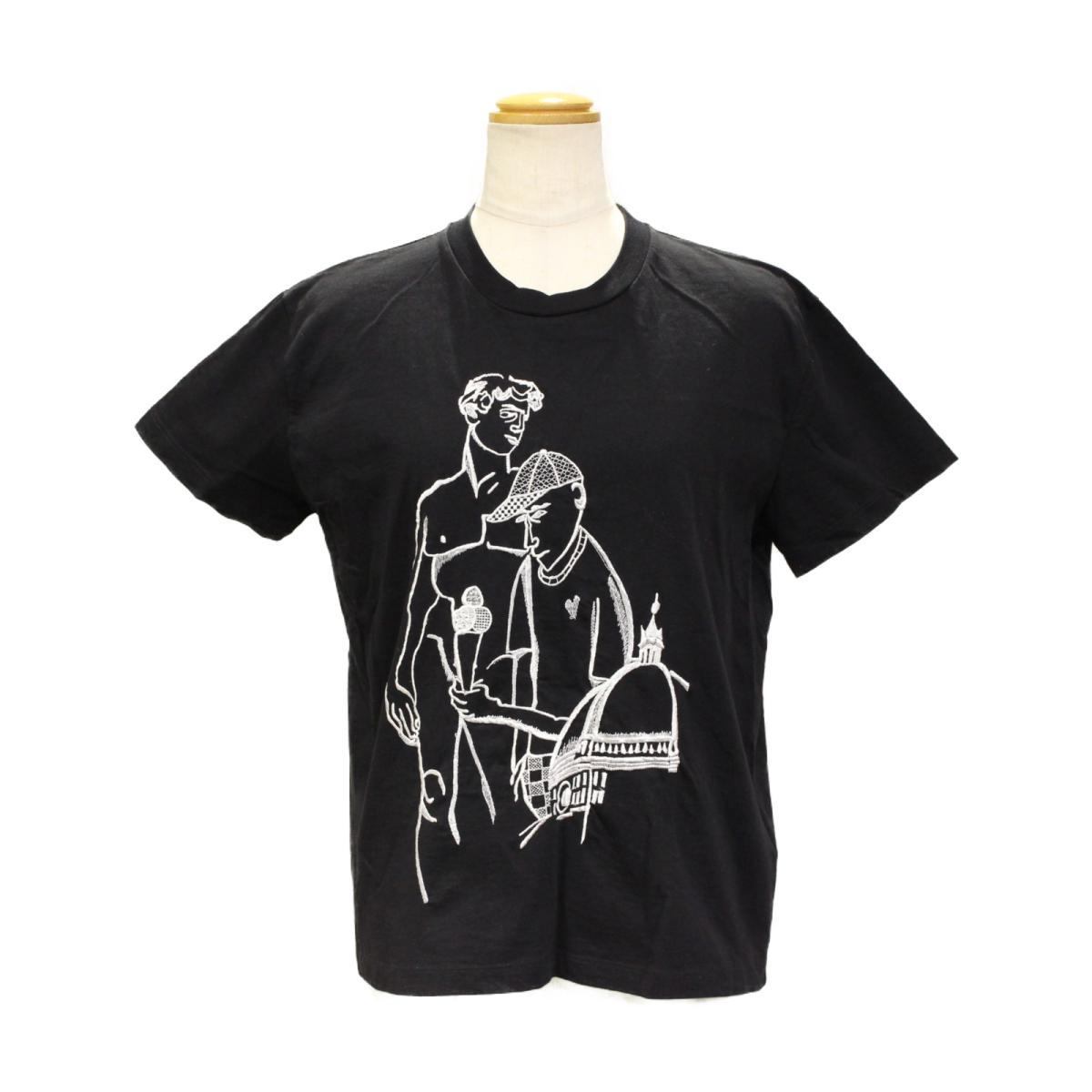 【中古】 エミリオ・プッチ Tシャツ レディース コットン100% ブラック | EMILIO PUCCI BRANDOFF ブランドオフ 衣料品 衣類 ブランド トップス シャツ カットソー