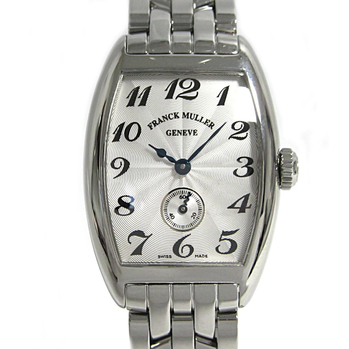 ≪期間限定≫メルマガ登録でクーポンGET! 【中古】 フランク・ミュラー トノウカーベックス 腕時計 ウォッチ レディース ステンレススチール (SS) (1750S6) | FRANCK MULLER BRANDOFF ブランドオフ ブランド ブランド時計 ブランド腕時計 時計