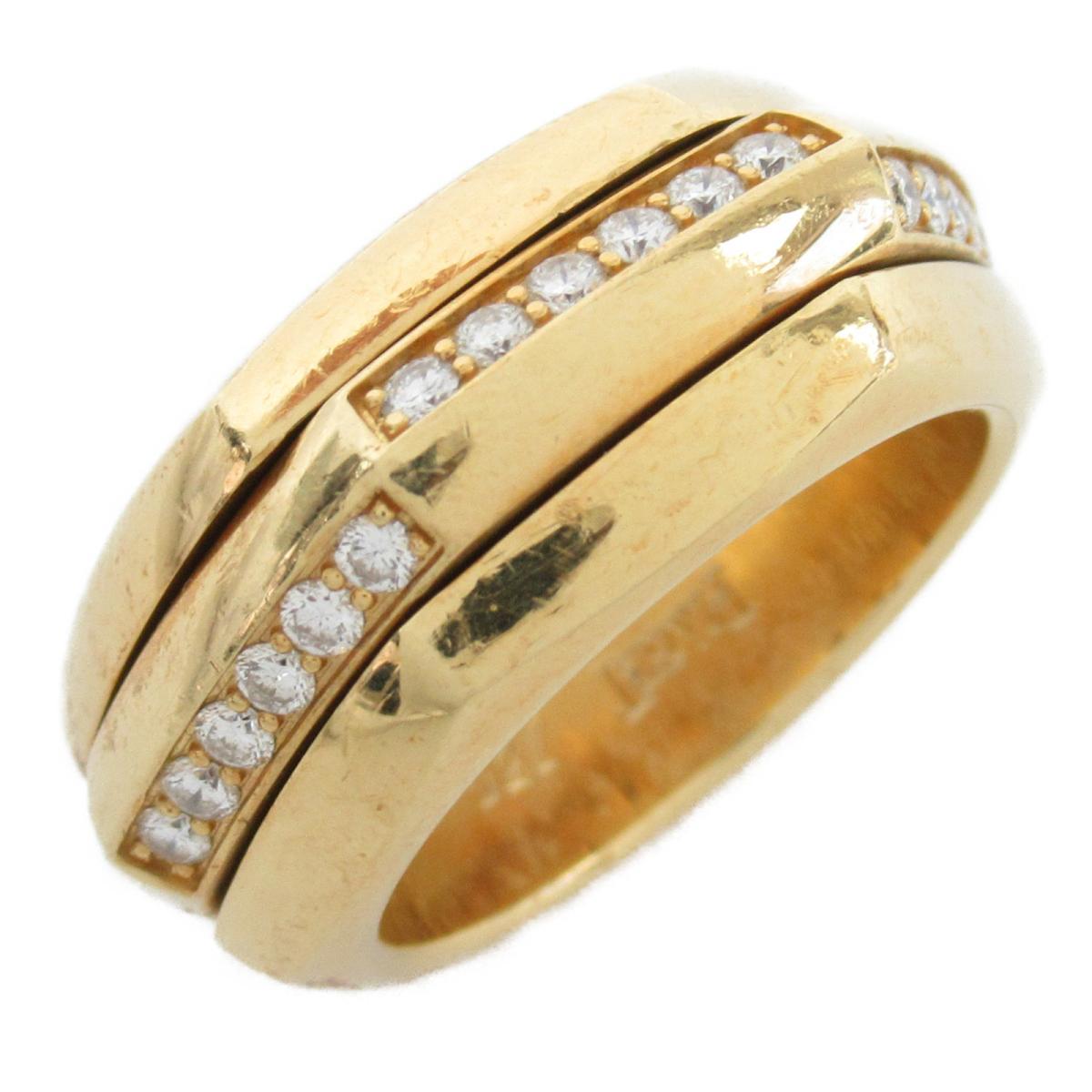 【中古】 ピアジェ メレダイヤリング 指輪 レディース K18YG (750) イエローゴールド x ダイヤモンド   PIAGET BRANDOFF ブランドオフ ブランド ジュエリー アクセサリー リング